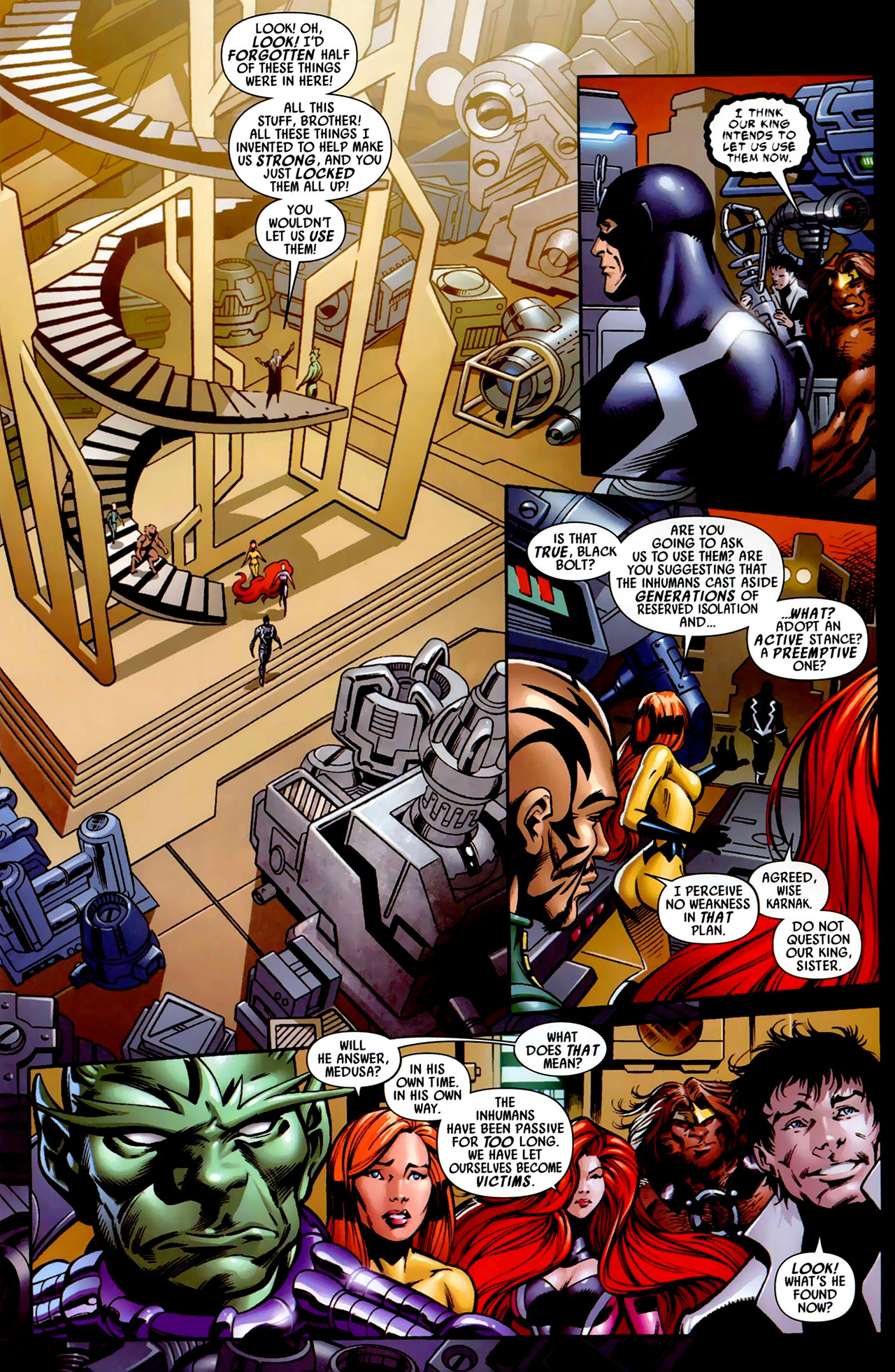 Read online Secret Invasion: War of Kings comic -  Issue # Full - 12