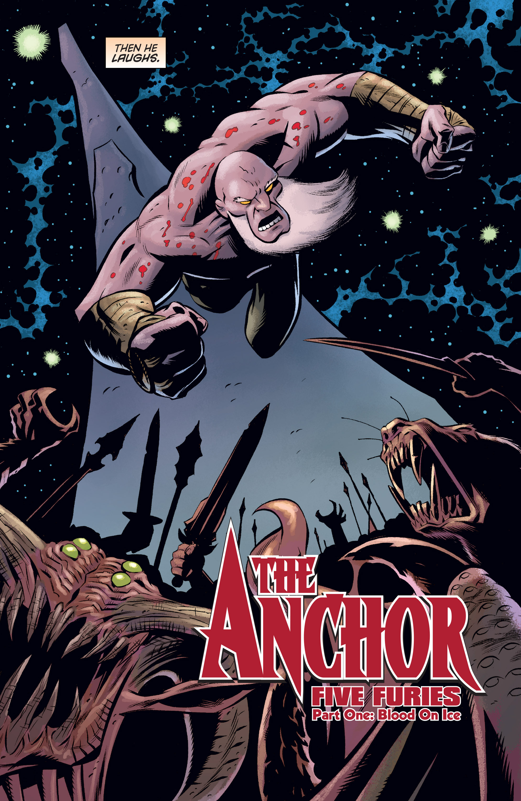 Read online The Anchor comic -  Issue # TPB 1 - 8