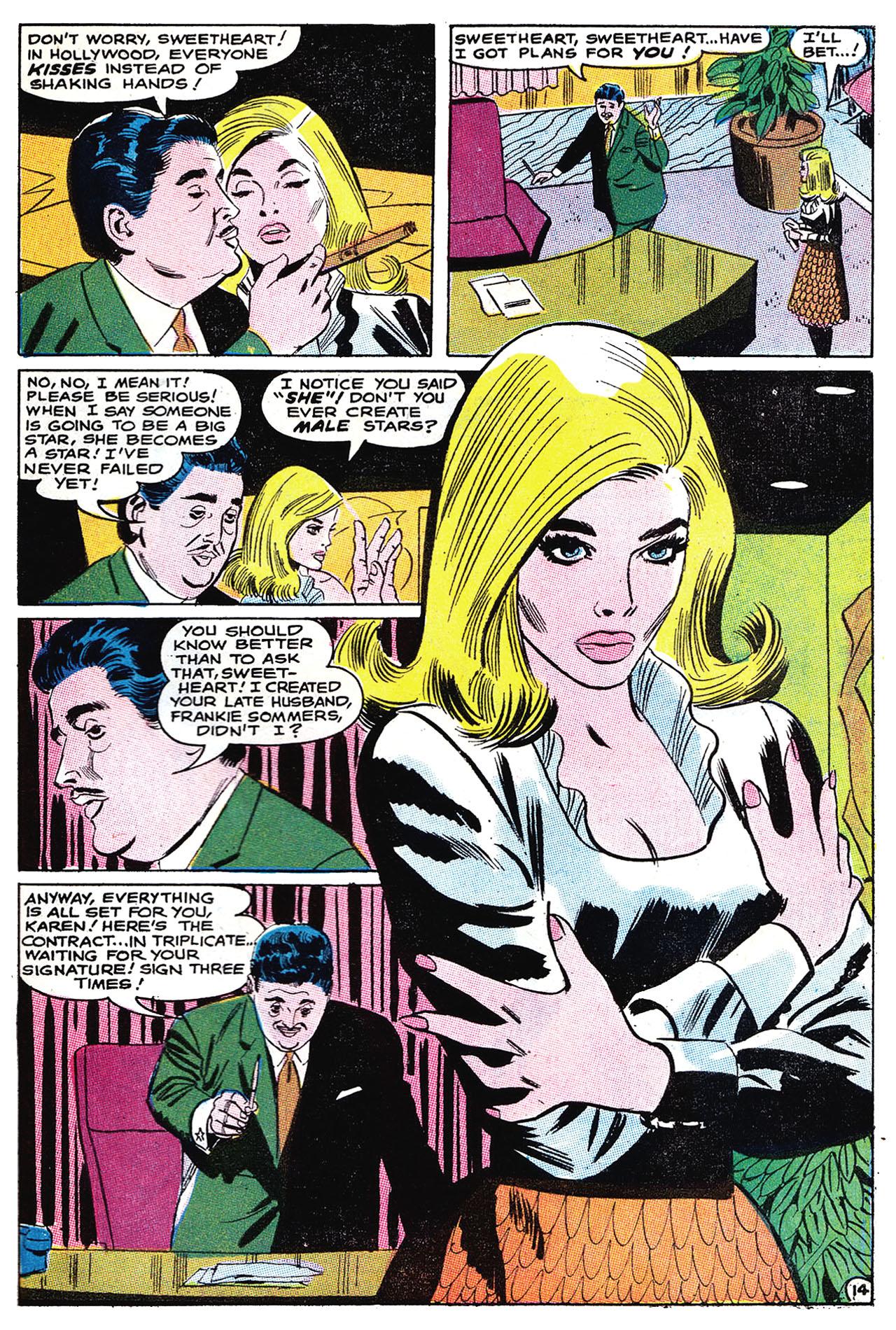 Read online Secret Hearts comic -  Issue #132 - 30