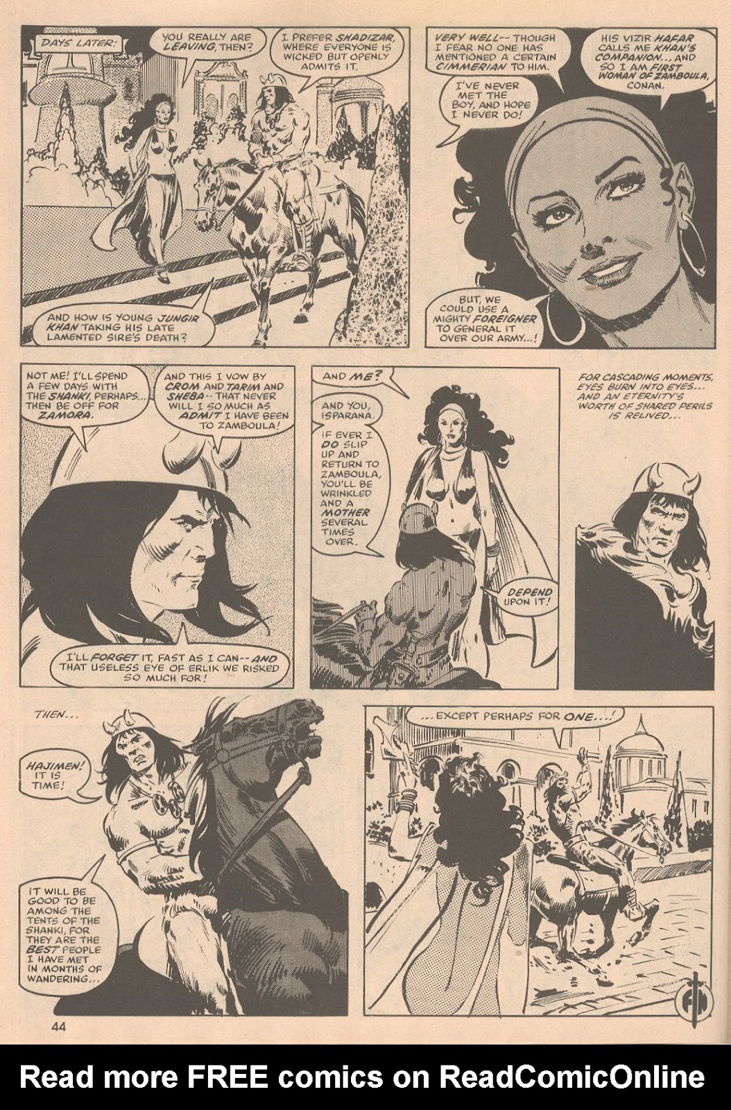 The Savage Sword Of Conan Issue #58 #59 - English 45