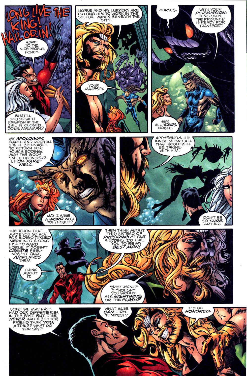 Aquaman (1994) Issue #60 #66 - English 4
