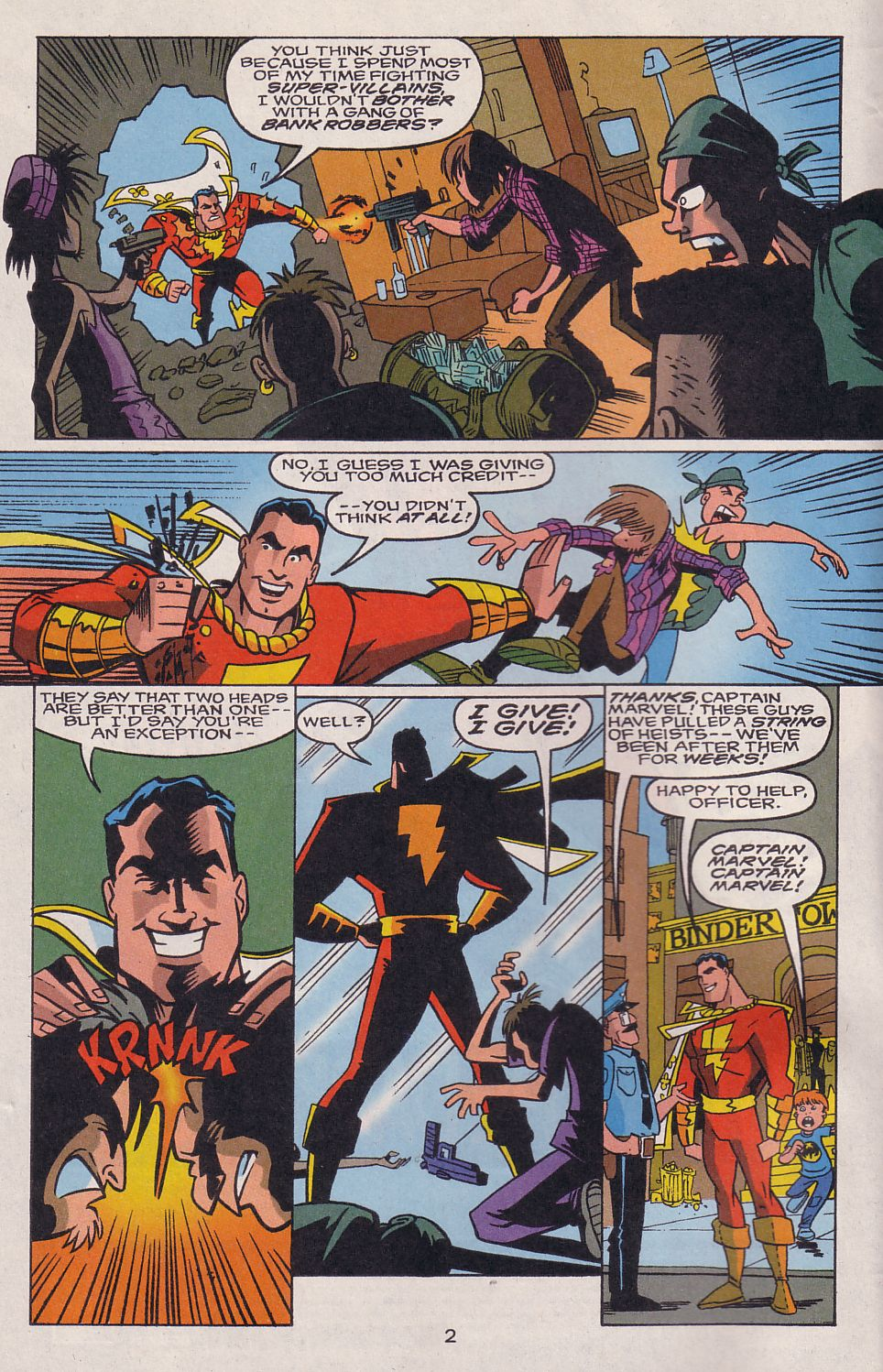 Read online Adventures in the DC Universe comic -  Issue #15 - 3