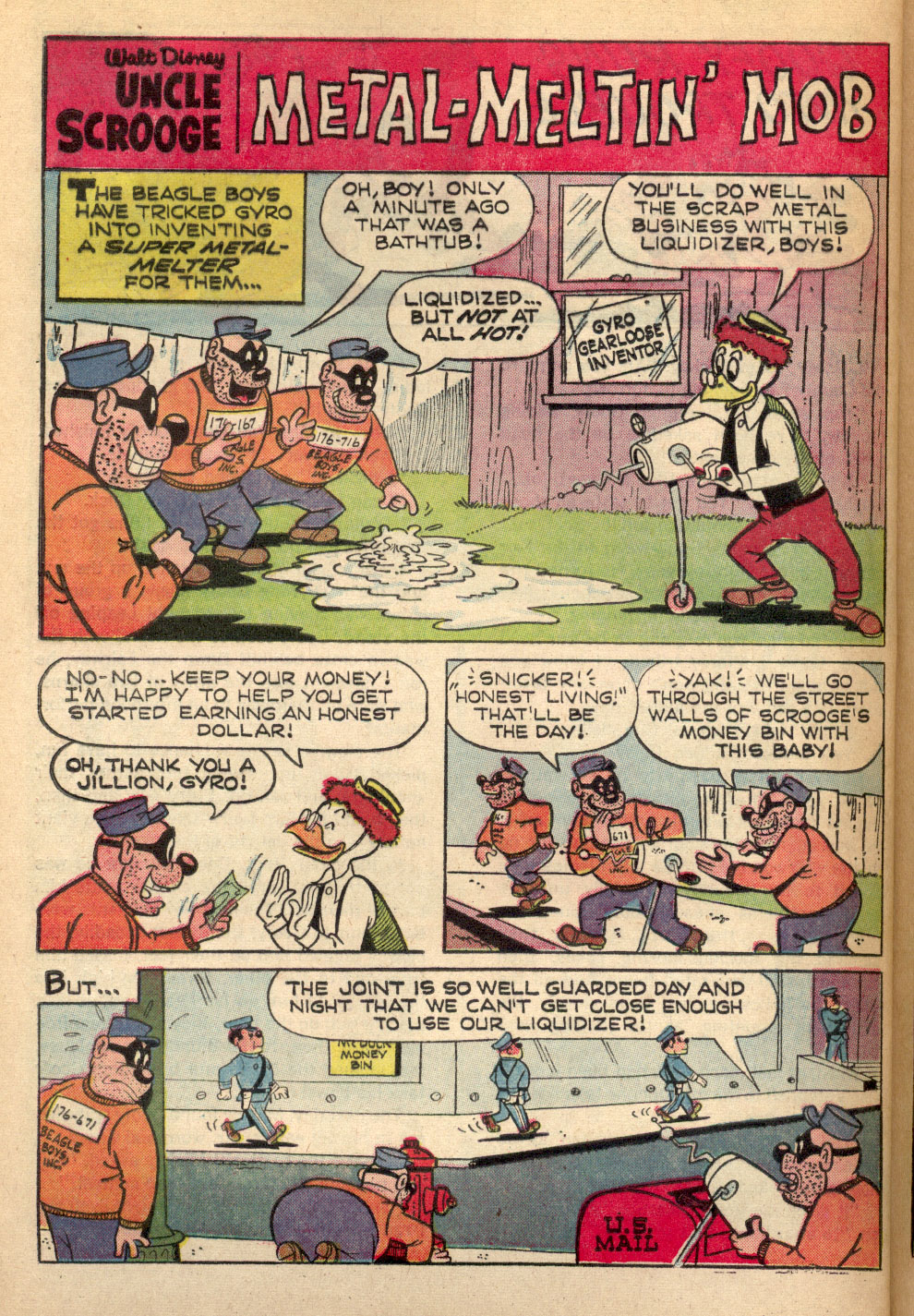 Uncle Scrooge (1953) Issue #72 #72 - English 28