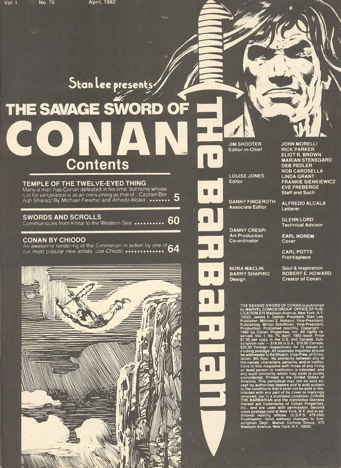 The Savage Sword Of Conan Issue #75 #76 - English 3