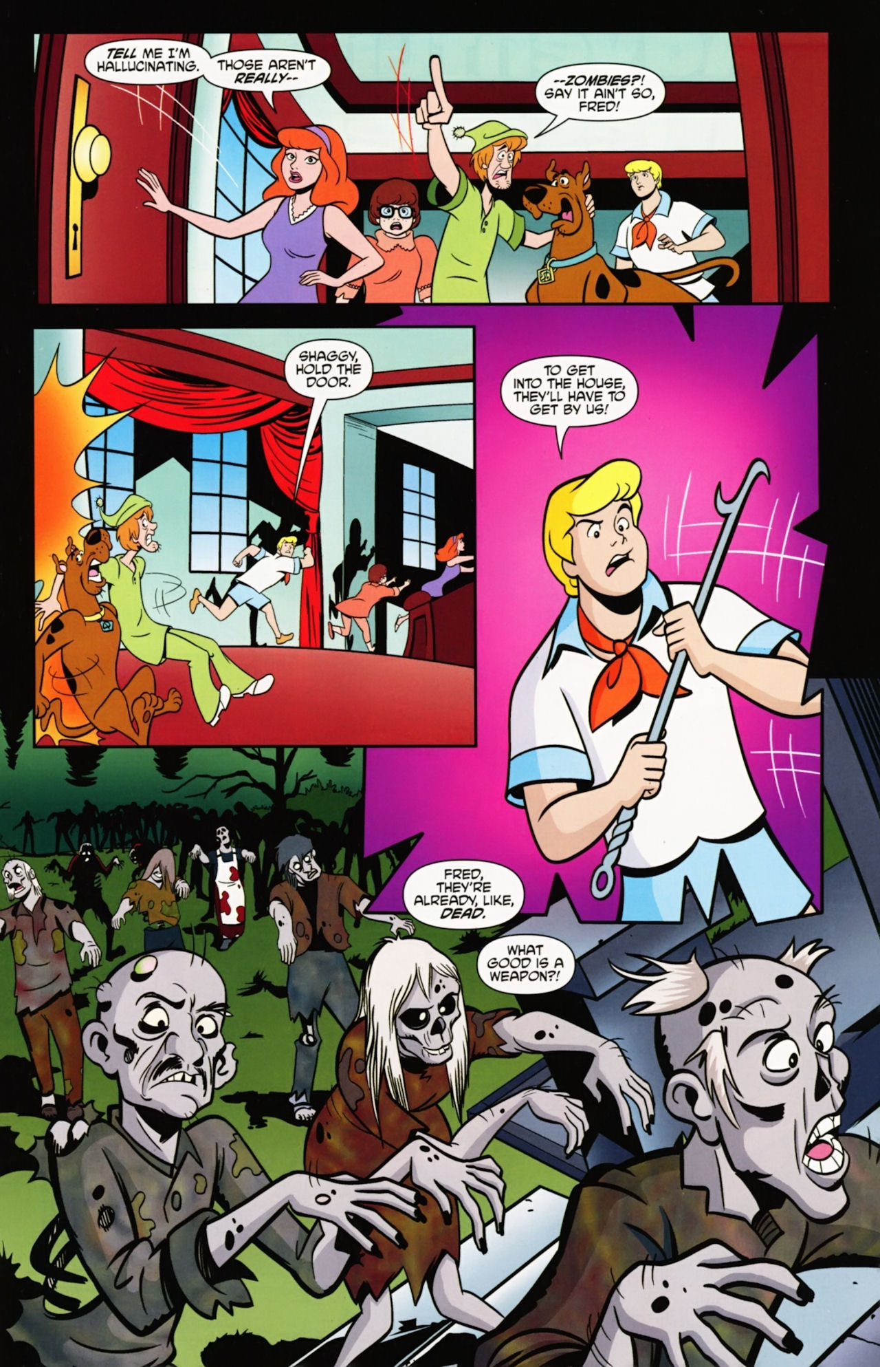 Read online Scooby-Doo: Where Are You? comic -  Issue #6 - 13
