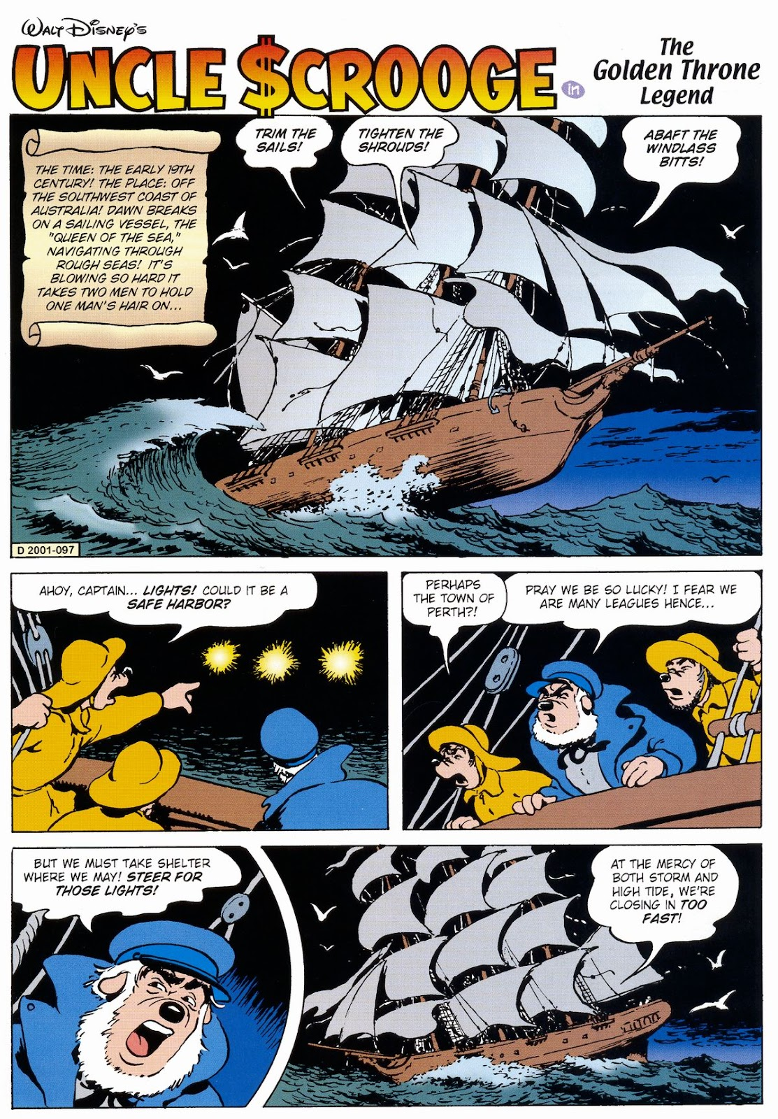 Uncle Scrooge (1953) Issue #327 #327 - English 3