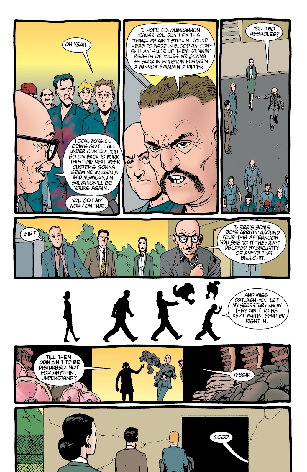 Preacher Issue #45 #54 - English 9