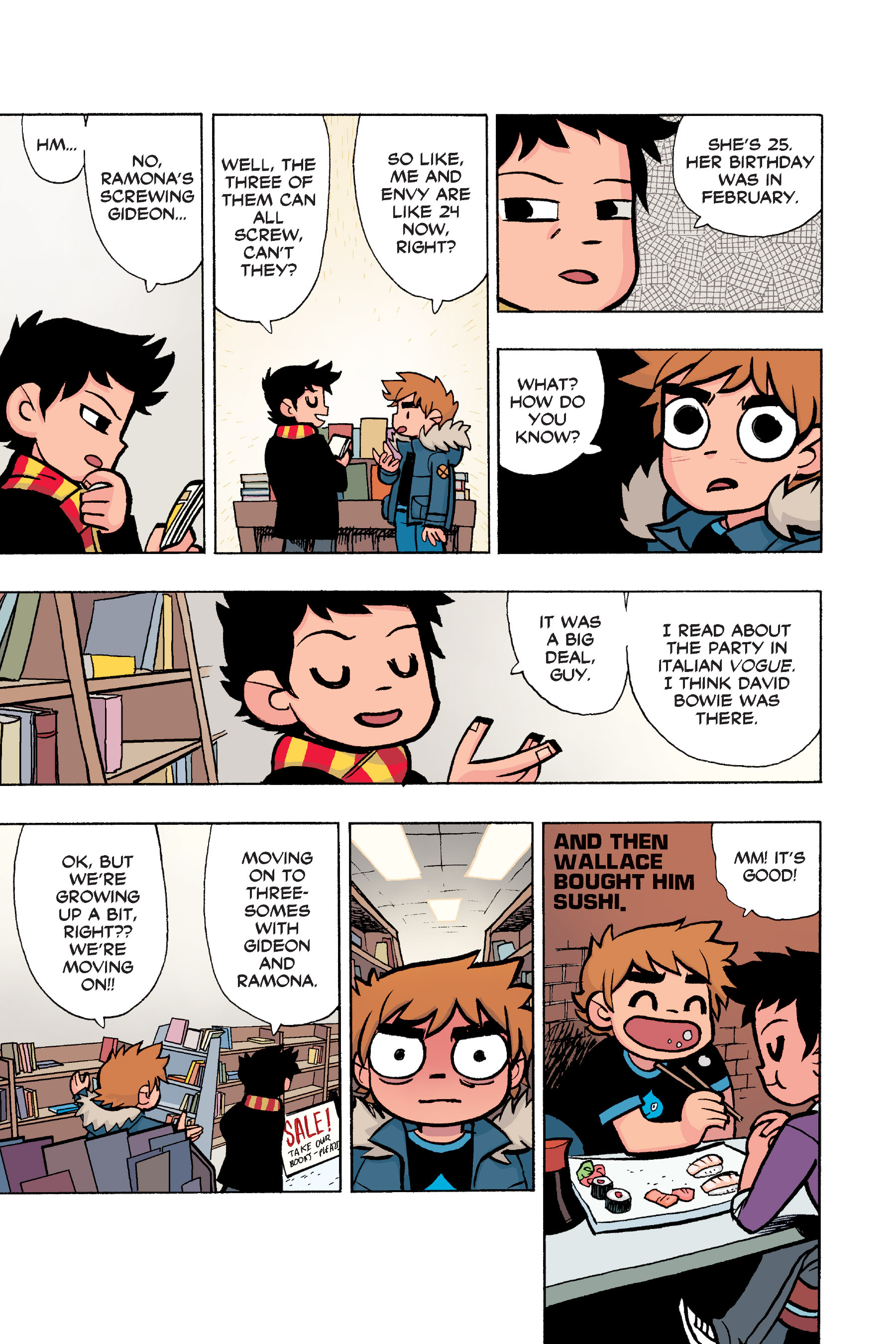 Read online Scott Pilgrim comic -  Issue #6 - 50
