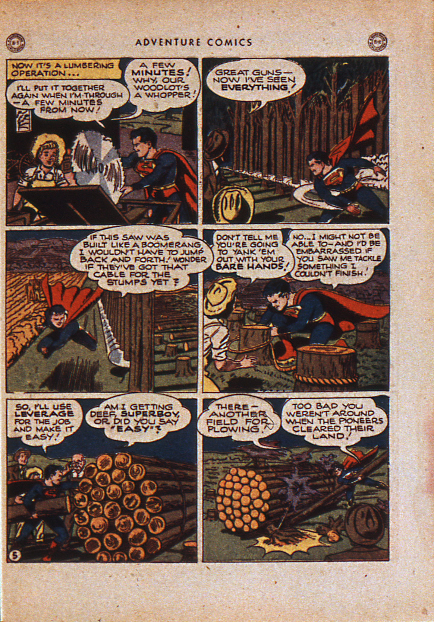 Read online Adventure Comics (1938) comic -  Issue #110 - 8