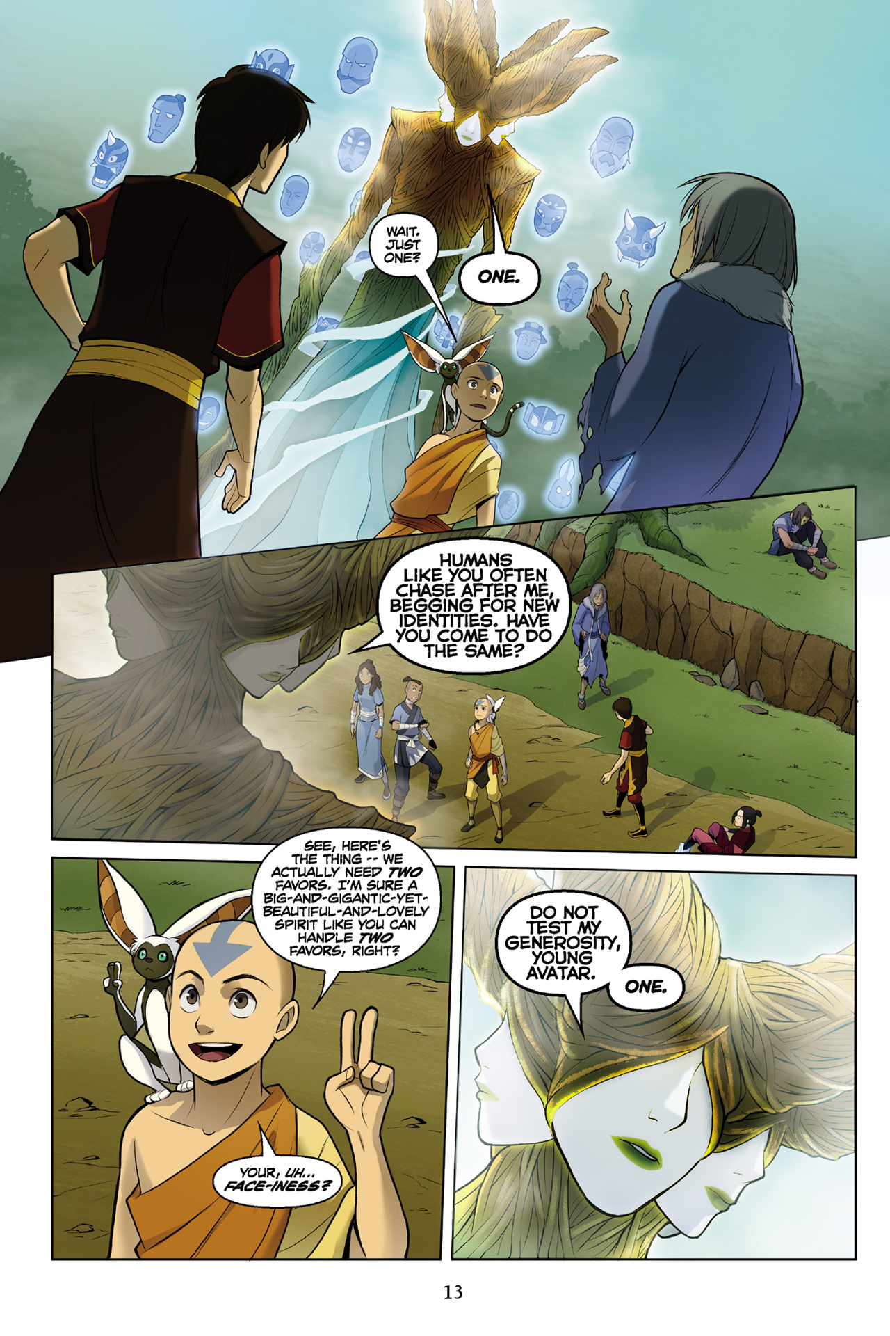 Read online Nickelodeon Avatar: The Last Airbender - The Search comic -  Issue # Part 3 - 14