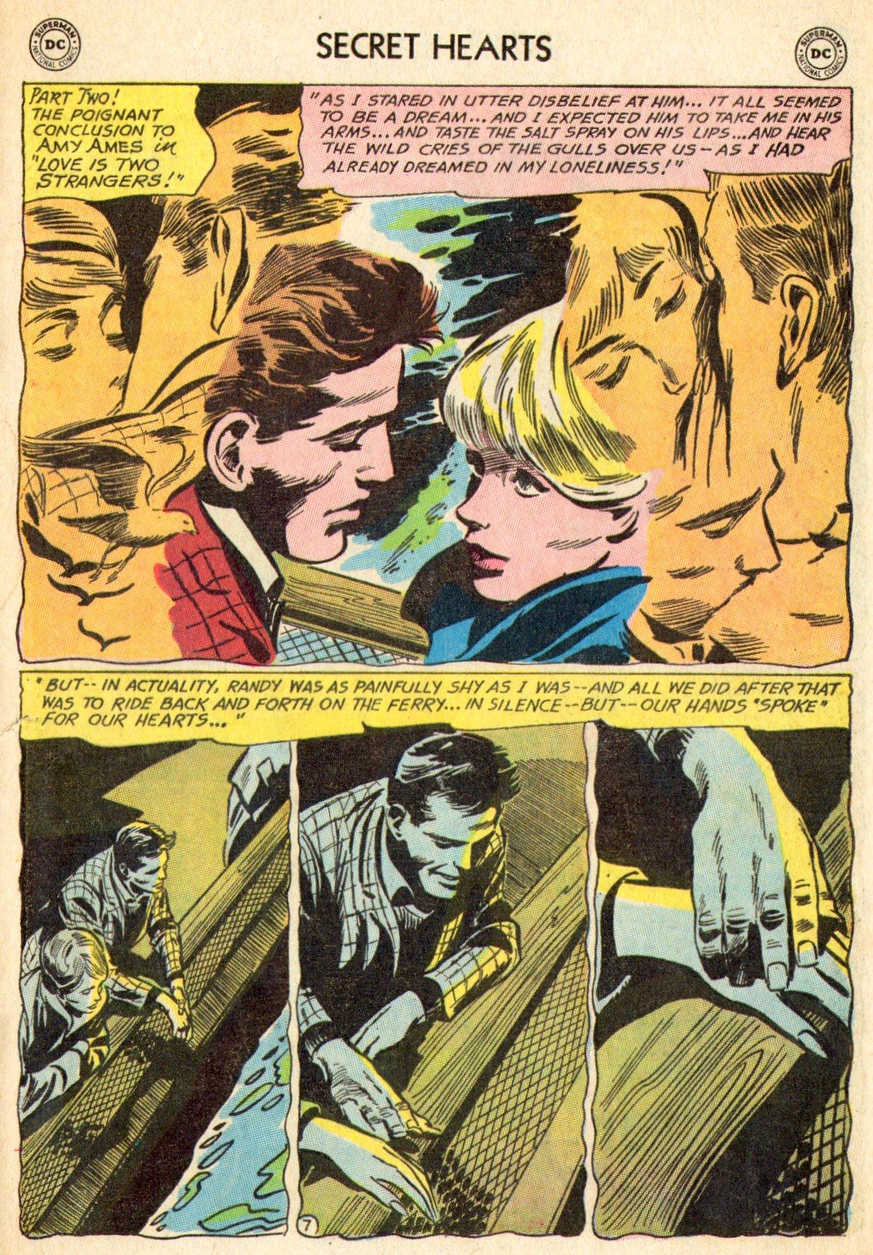 Read online Secret Hearts comic -  Issue #101 - 25