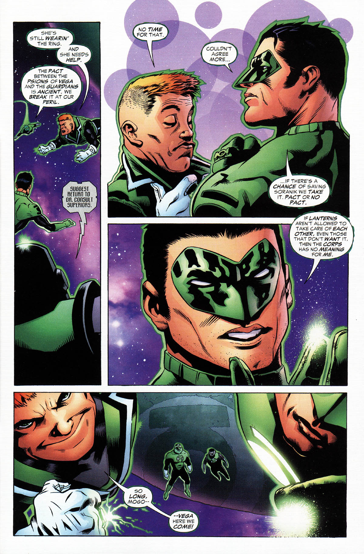 Read online Green Lantern Corps: Recharge comic -  Issue #2 - 21