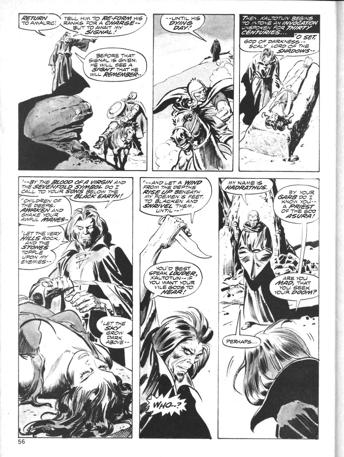The Savage Sword Of Conan Issue #10 #11 - English 44
