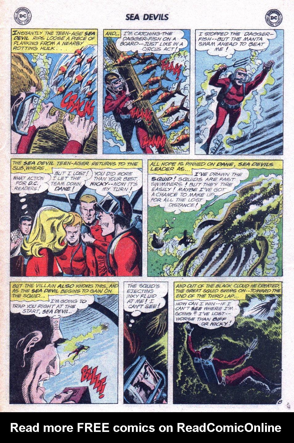 Read online Sea Devils comic -  Issue #14 - 27