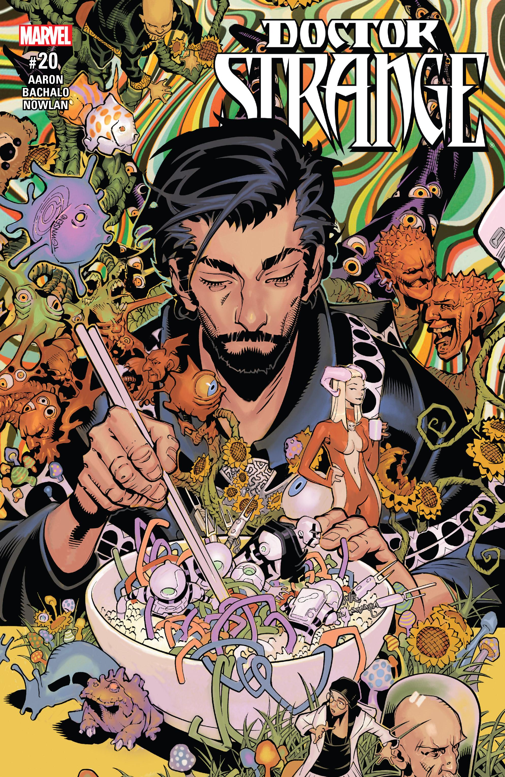 Doctor Strange (2015) 20 Page 1