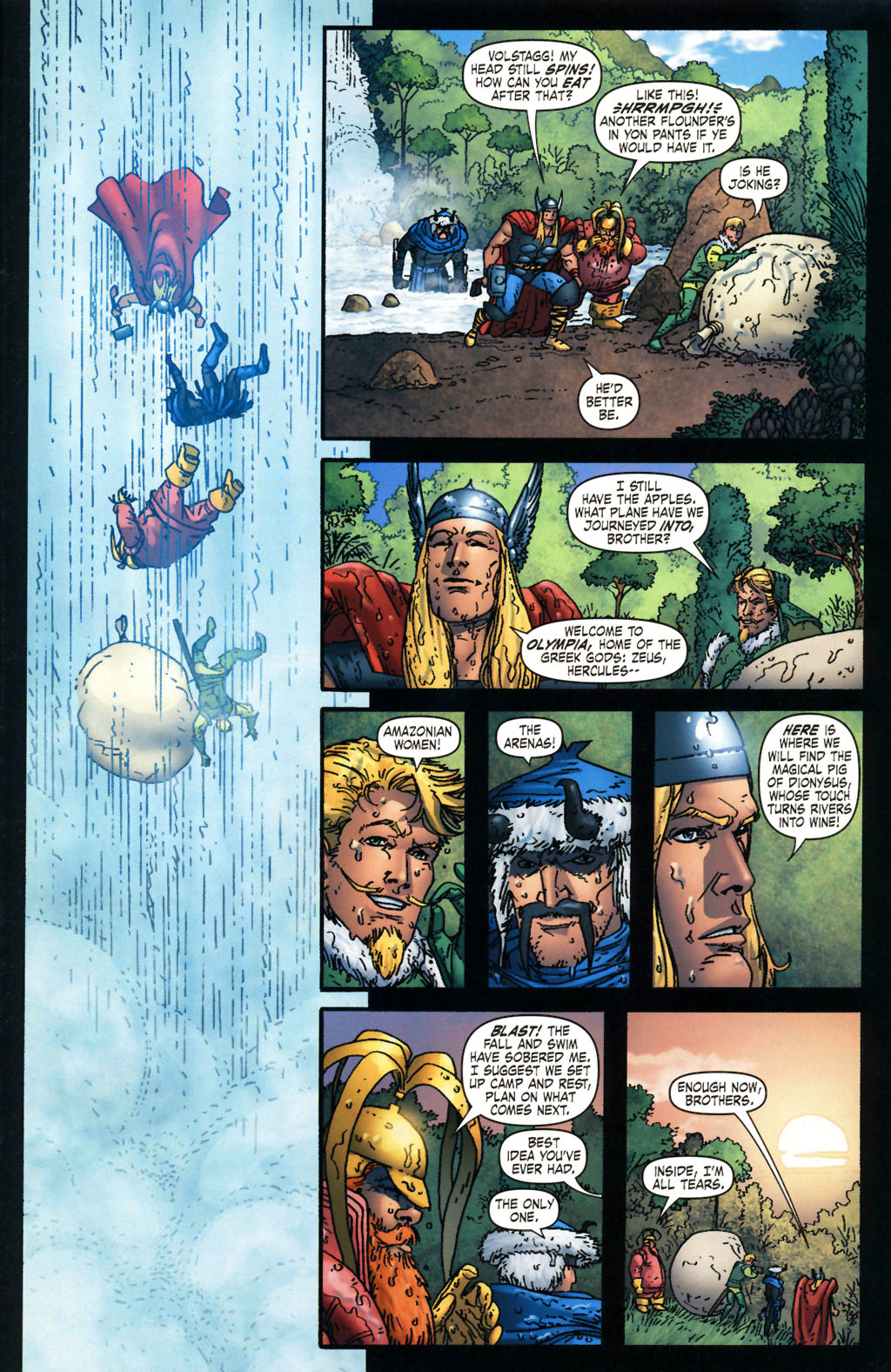 Read online Thor: Blood Oath comic -  Issue #2 - 17