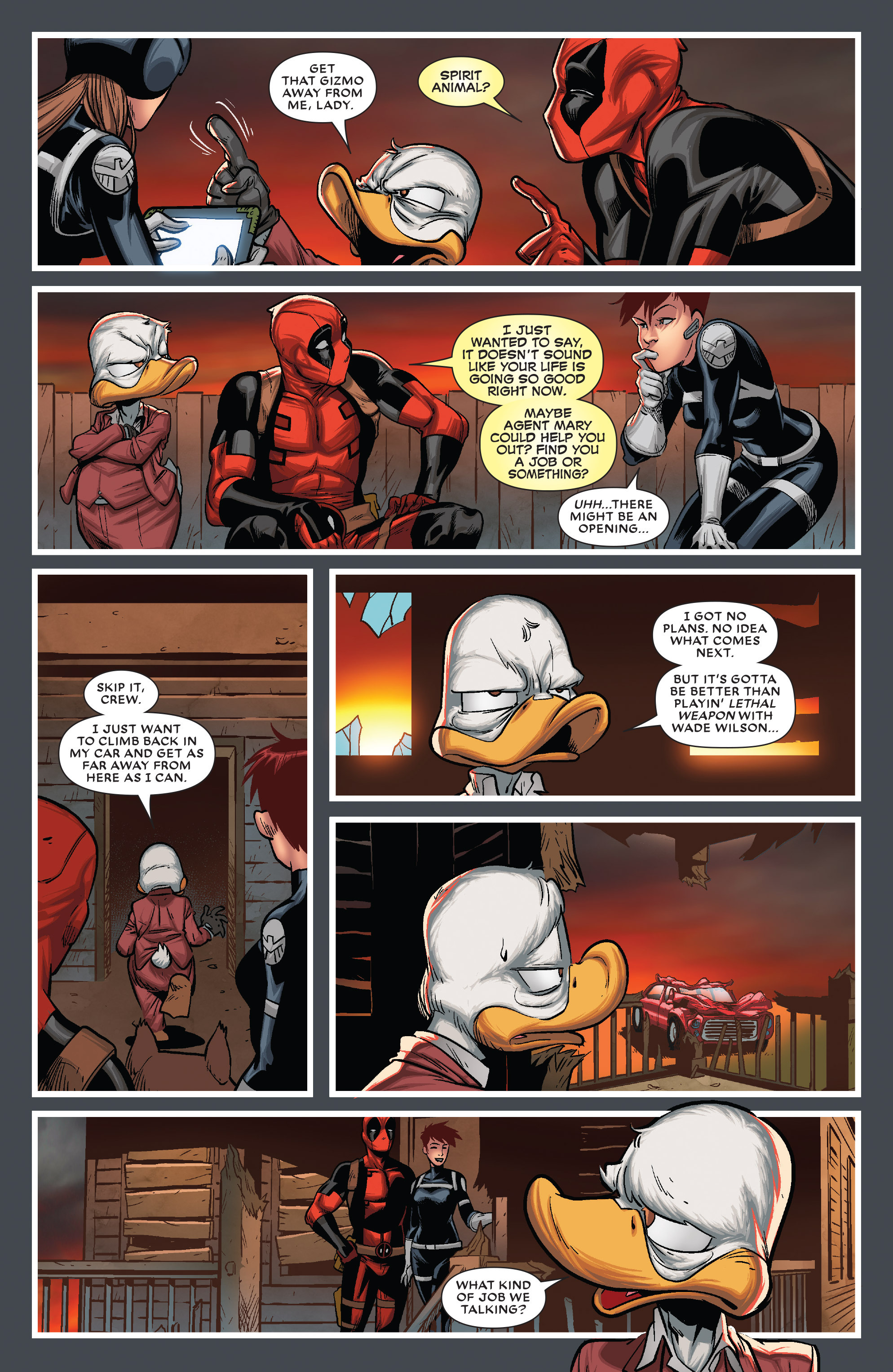 Read online Deadpool The Duck comic -  Issue #5 - 19