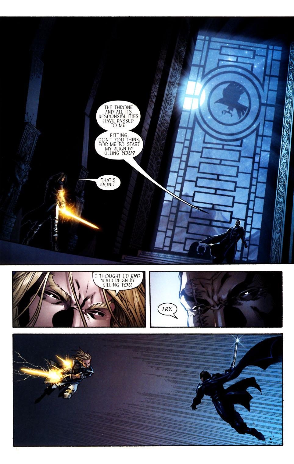 Read online Scion comic -  Issue #13 - 17