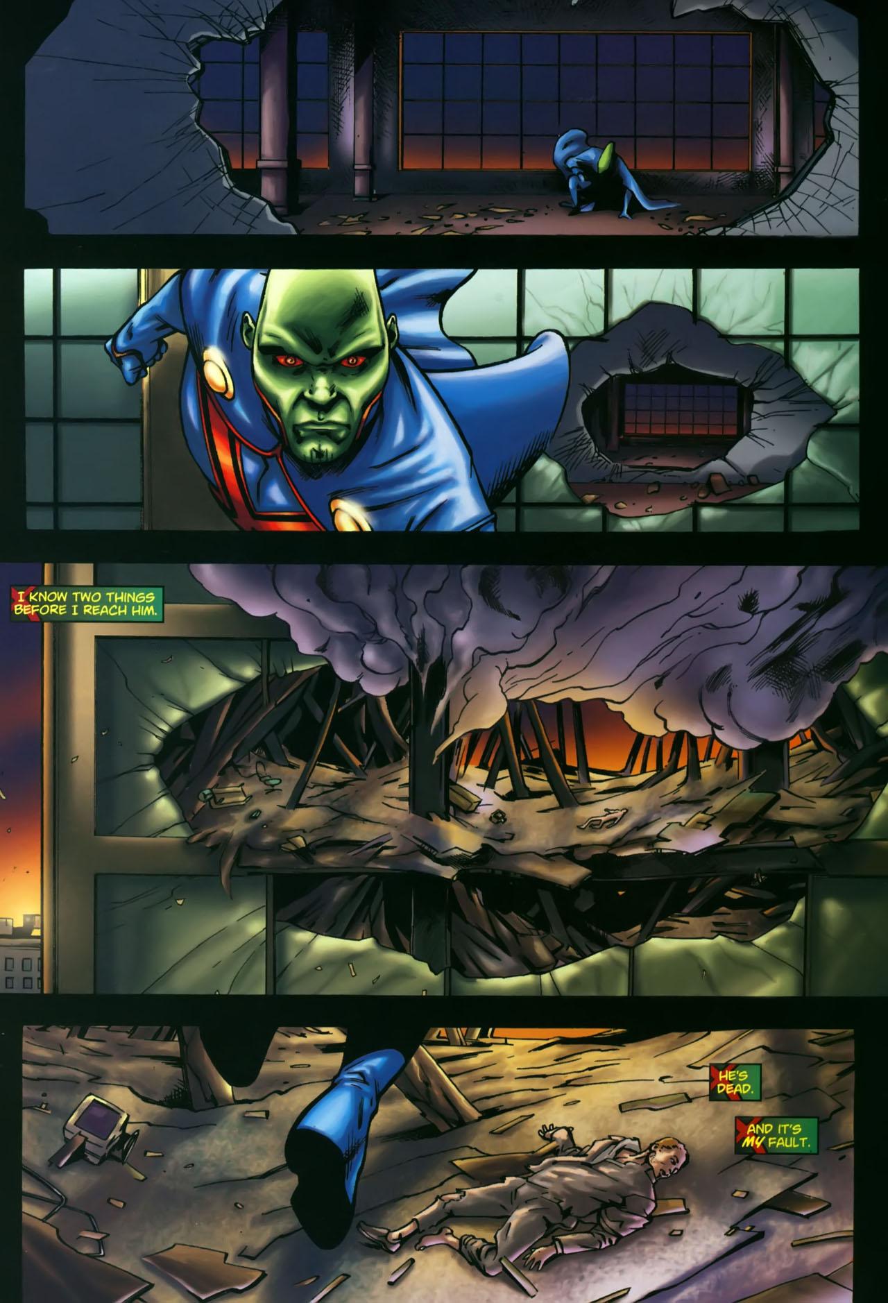 Read online Martian Manhunter (2006) comic -  Issue #3 - 19