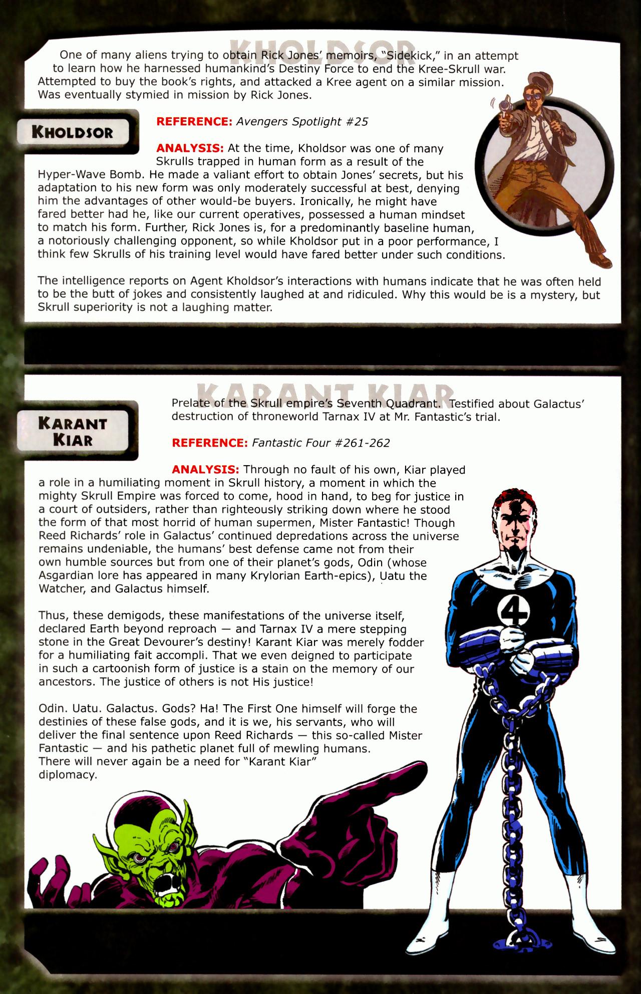 Read online Skrulls! comic -  Issue # Full - 24