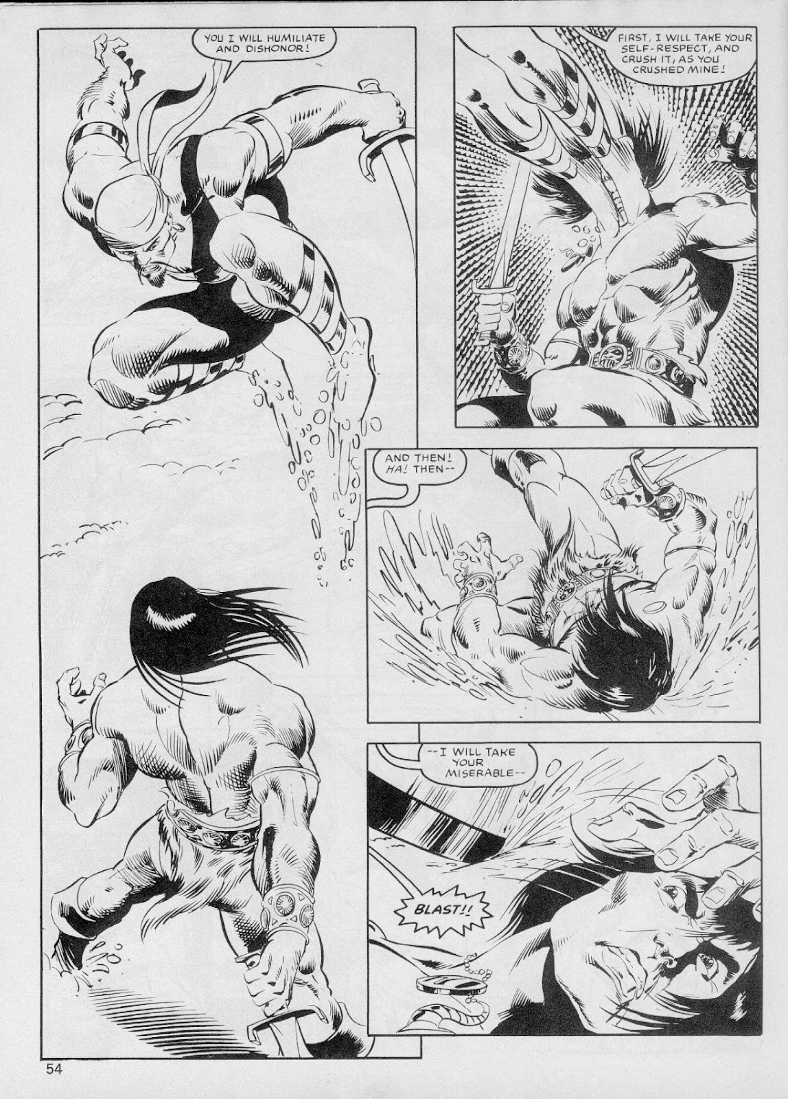 The Savage Sword Of Conan Issue #103 #104 - English 53