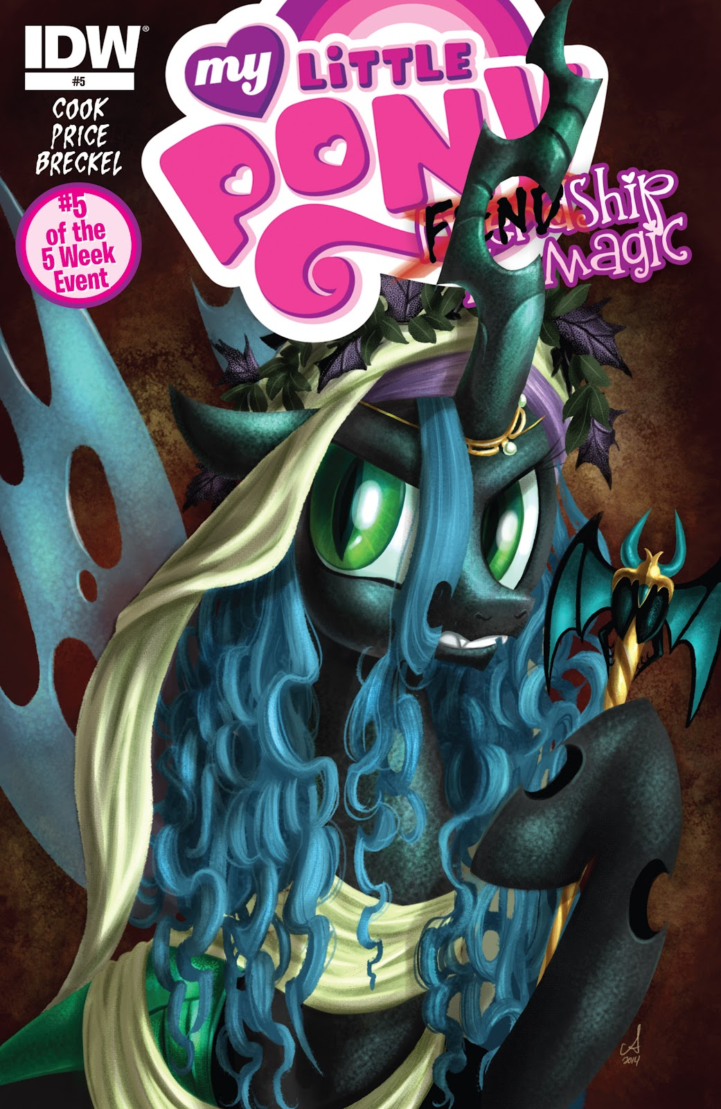 My Little Pony: Fiendship is Magic issue 5 - Page 1
