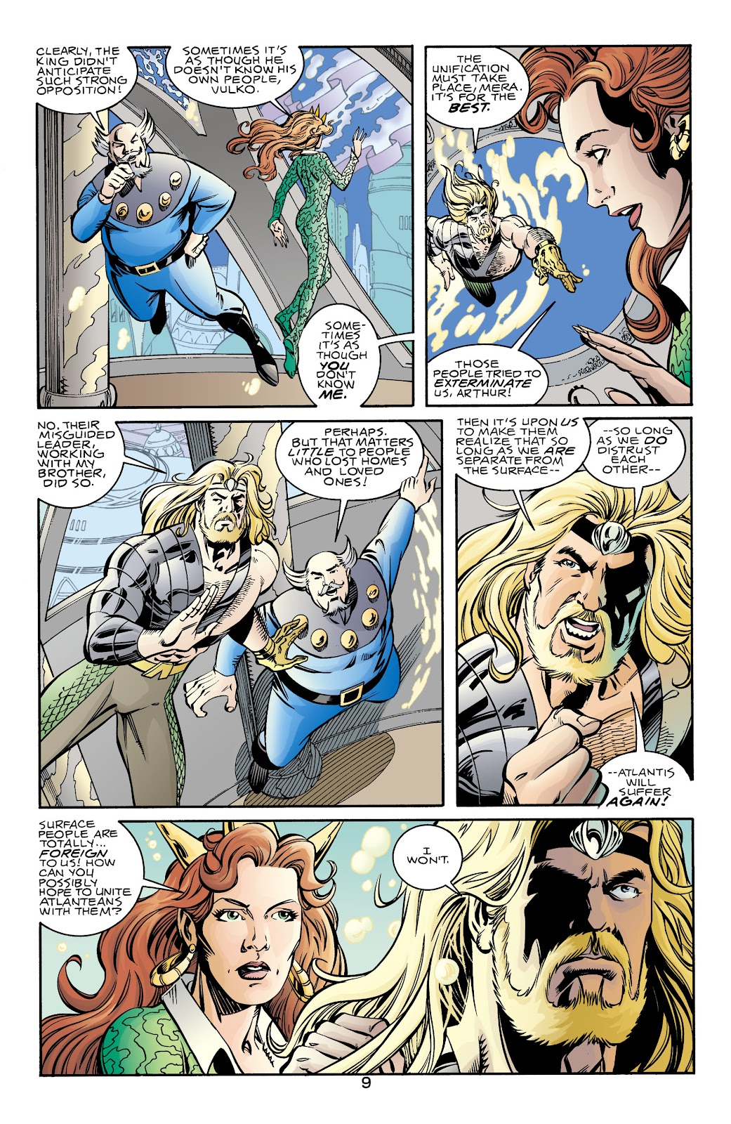 Aquaman (1994) Issue #70 #76 - English 9