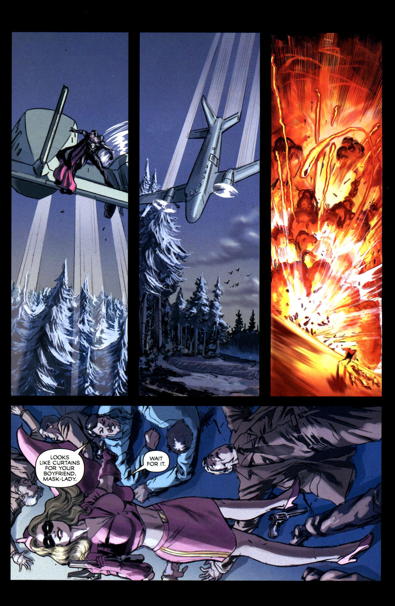 Read online Masquerade comic -  Issue #2 - 25