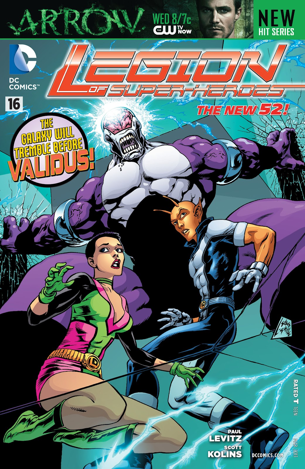 Legion of Super-Heroes (2011) Issue #16 #17 - English 1