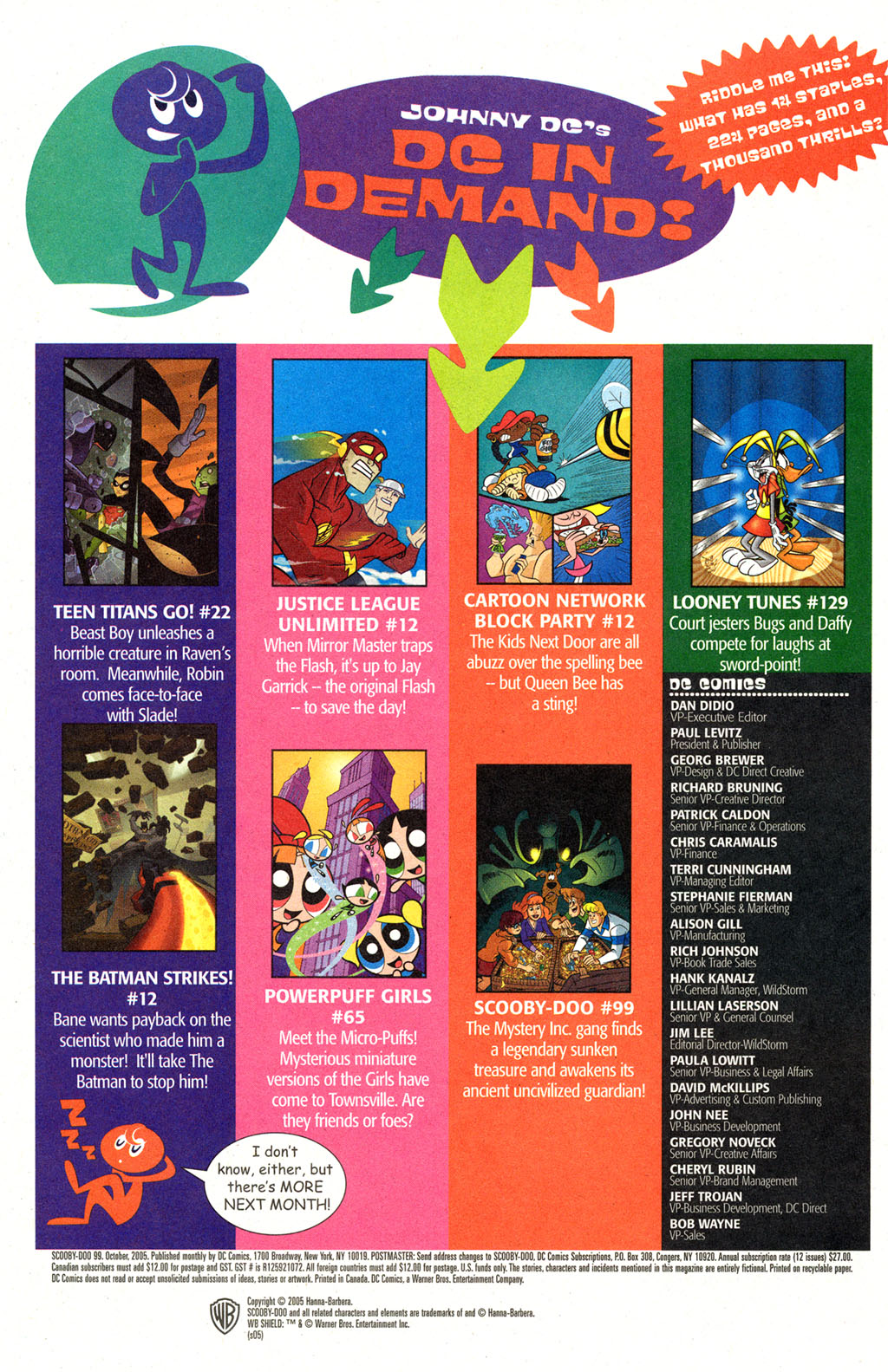 Read online Scooby-Doo (1997) comic -  Issue #99 - 23