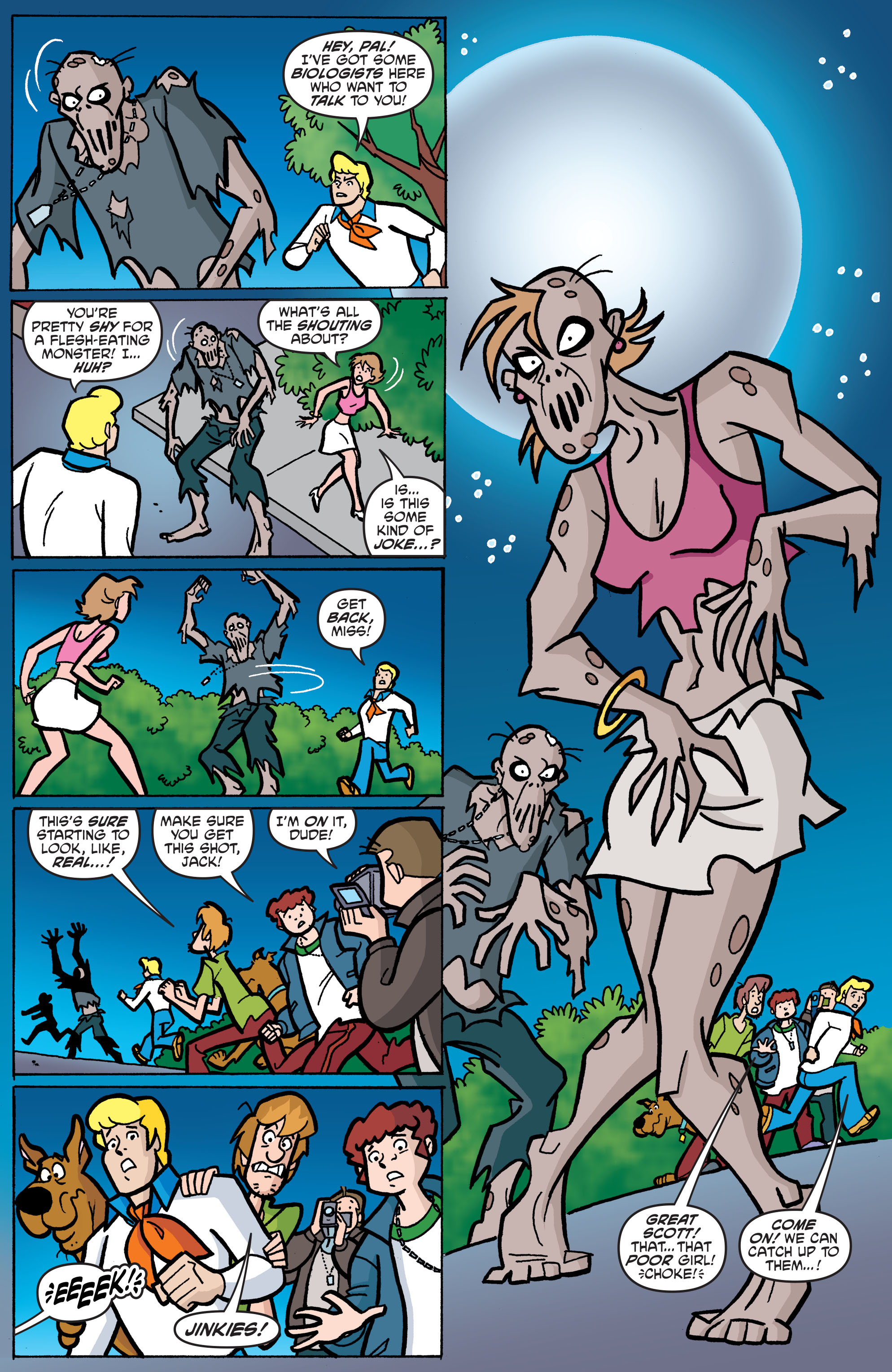 Read online Scooby-Doo: Where Are You? comic -  Issue #65 - 17