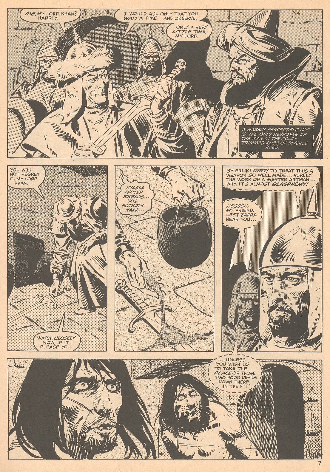 The Savage Sword Of Conan Issue #56 #57 - English 7