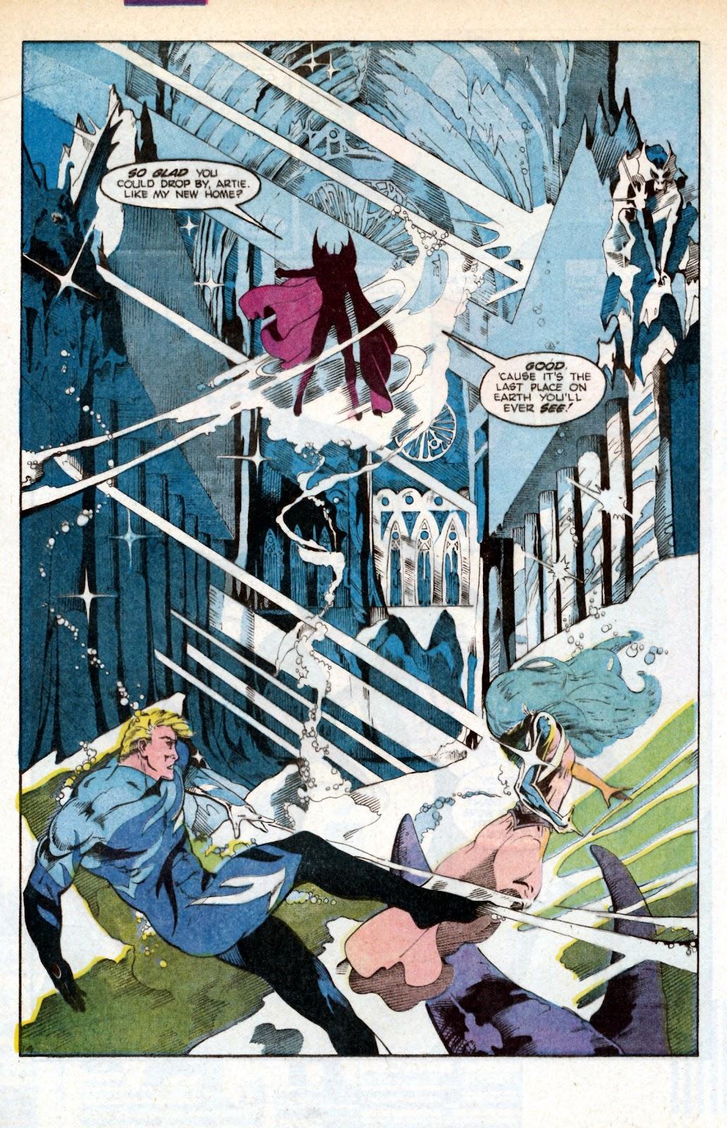 Aquaman (1986) Issue #3 #3 - English 23