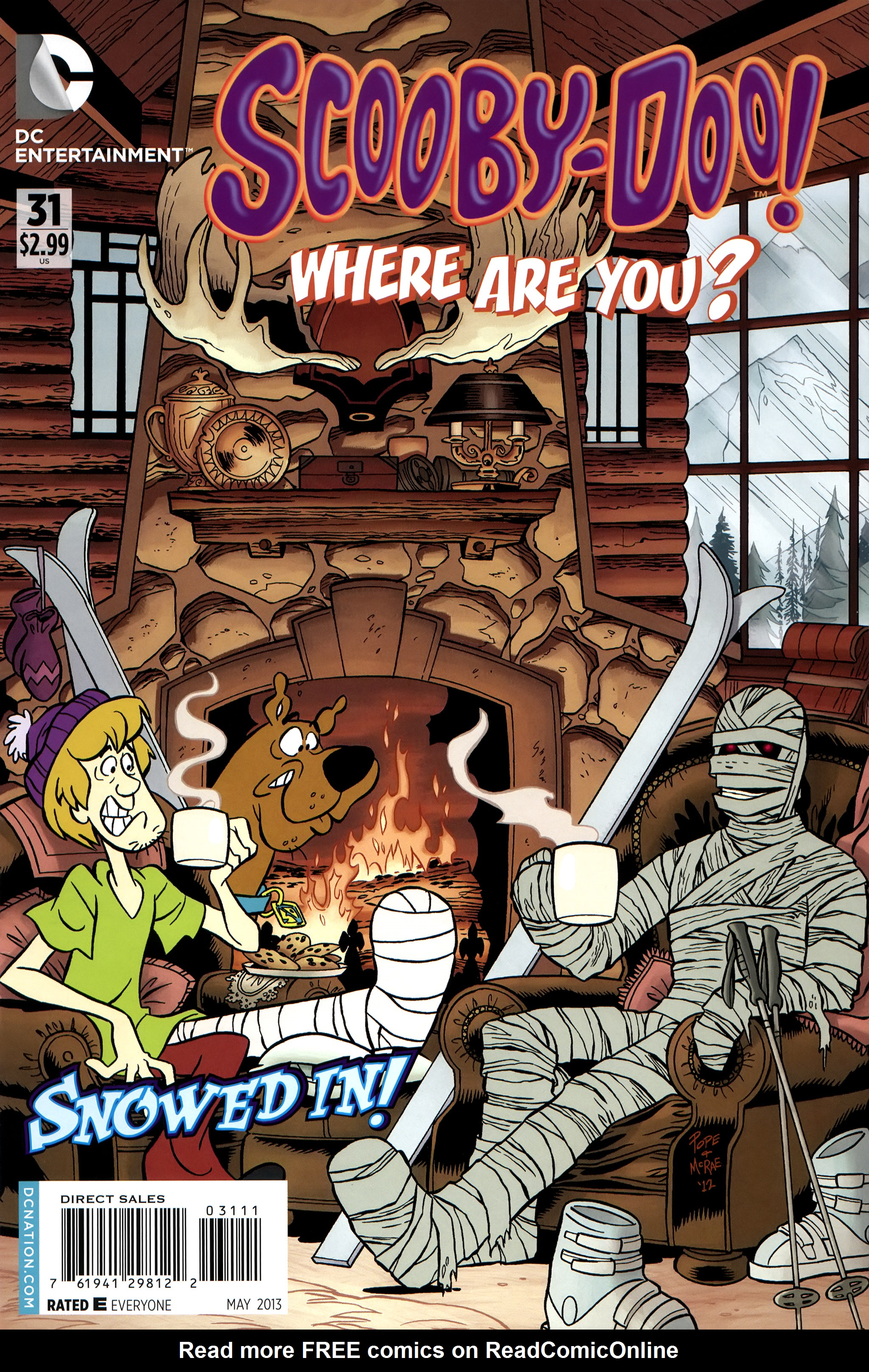 Read online Scooby-Doo: Where Are You? comic -  Issue #31 - 1