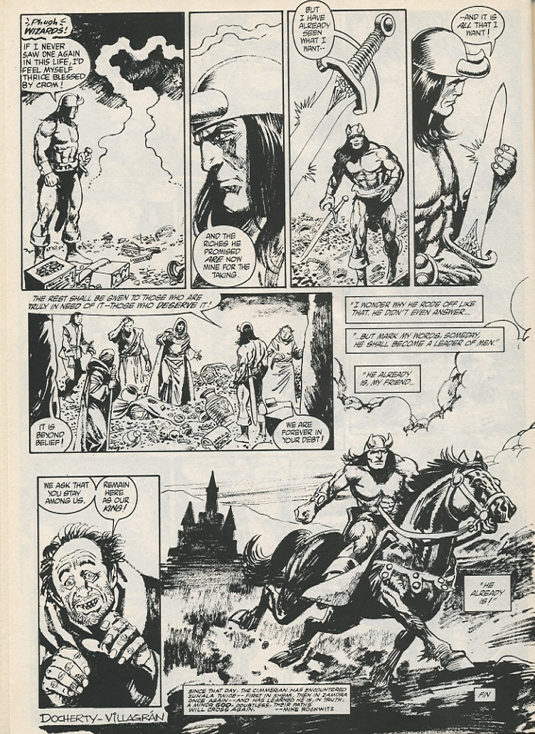 The Savage Sword Of Conan Issue #189 #190 - English 44