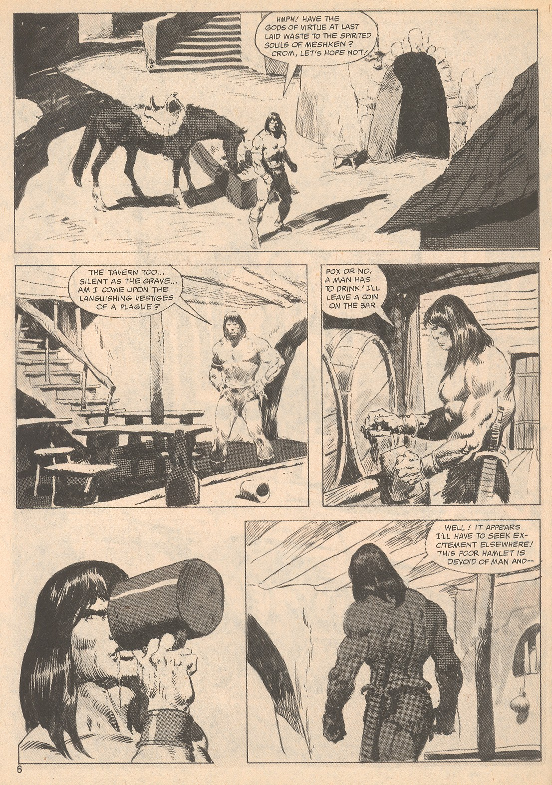 The Savage Sword Of Conan Issue #70 #71 - English 6