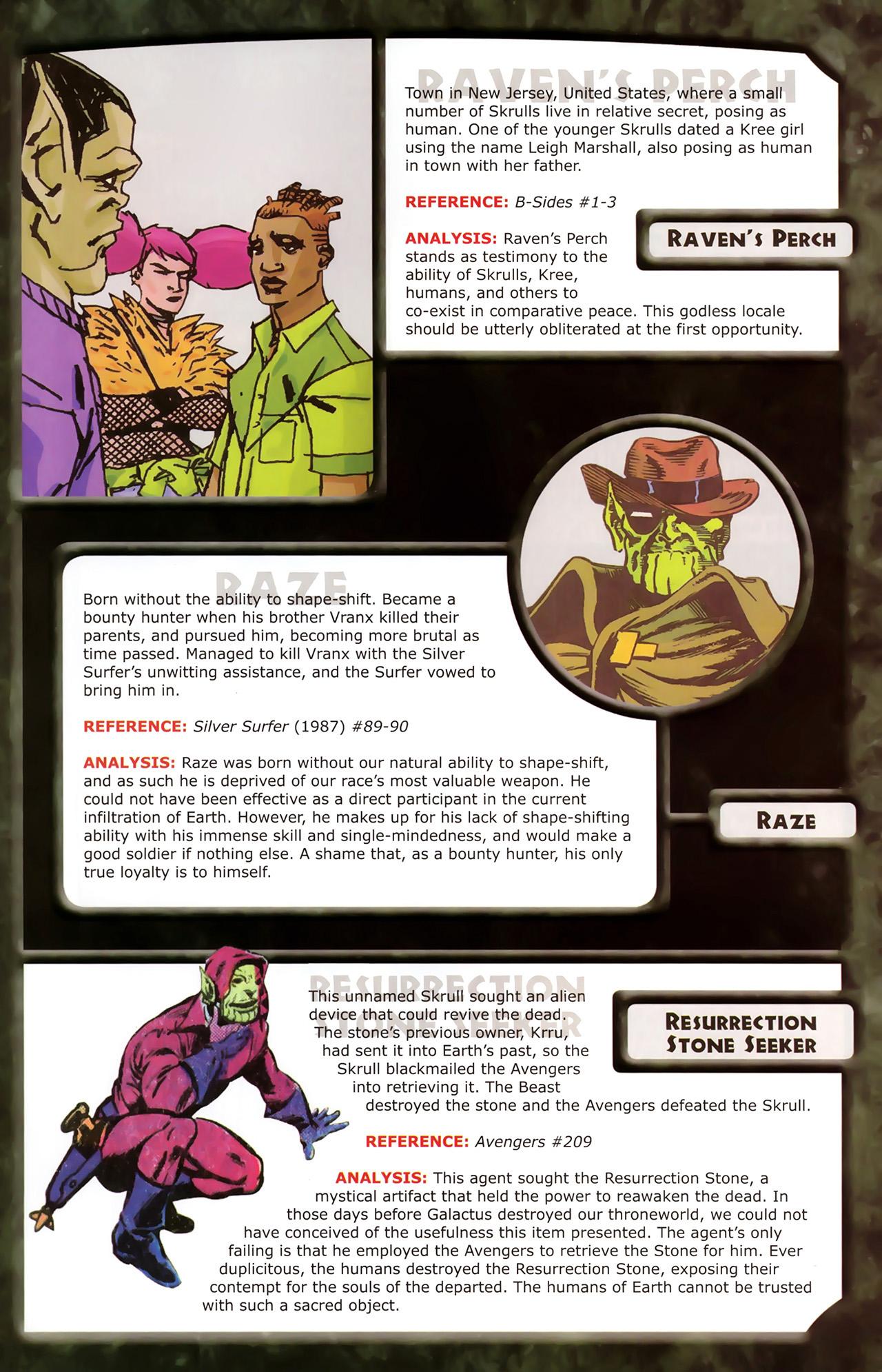 Read online Skrulls! comic -  Issue # Full - 39
