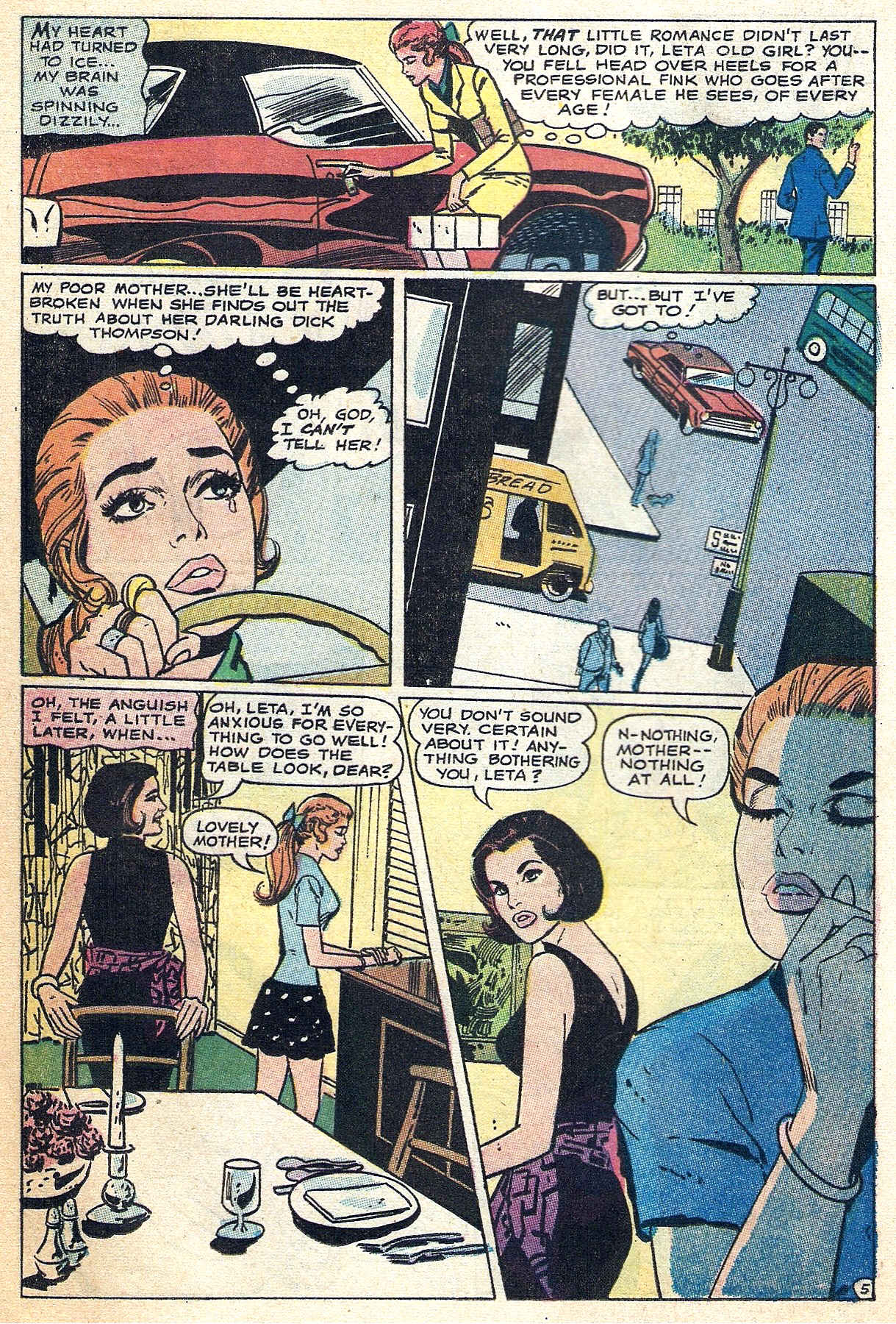 Read online Secret Hearts comic -  Issue #140 - 20