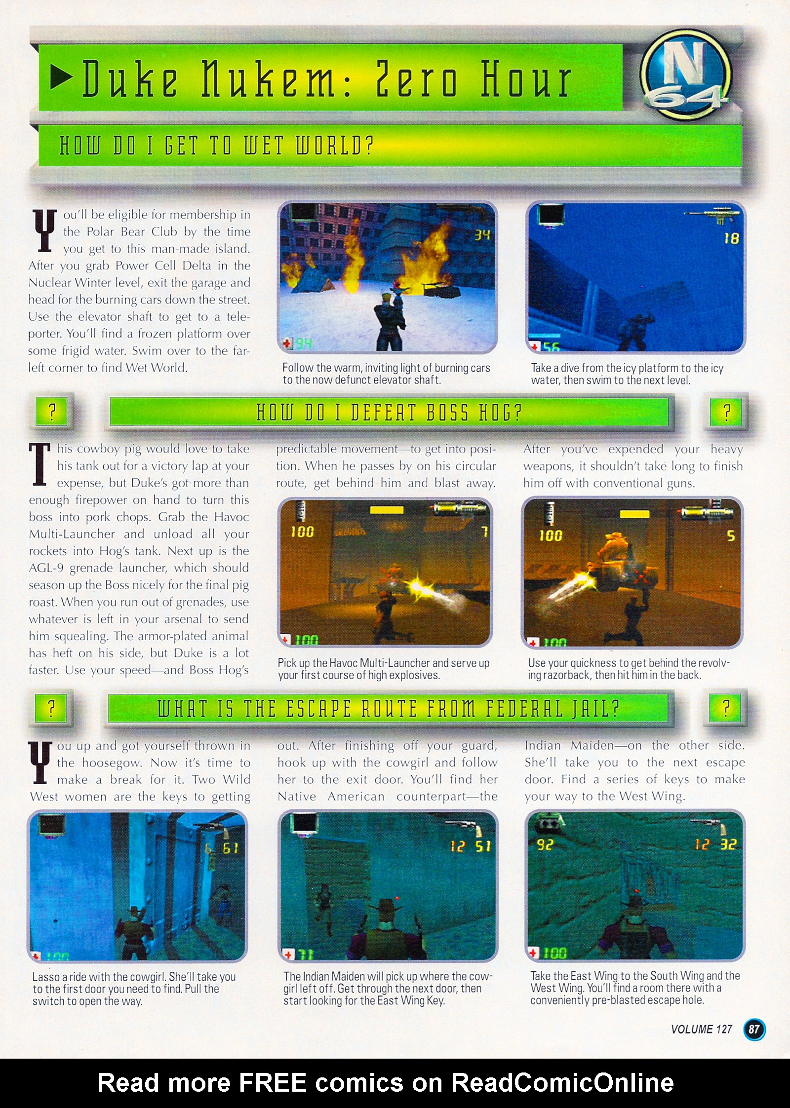 Nintendo Power #127 #127 - English 111