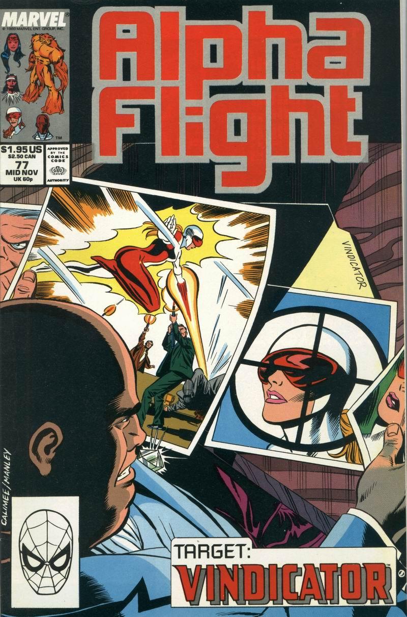Alpha Flight (1983) 77 Page 1