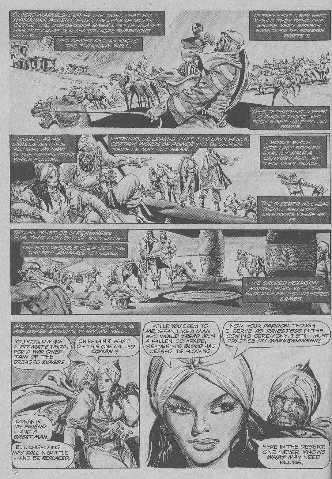 The Savage Sword Of Conan Issue #6 #7 - English 12