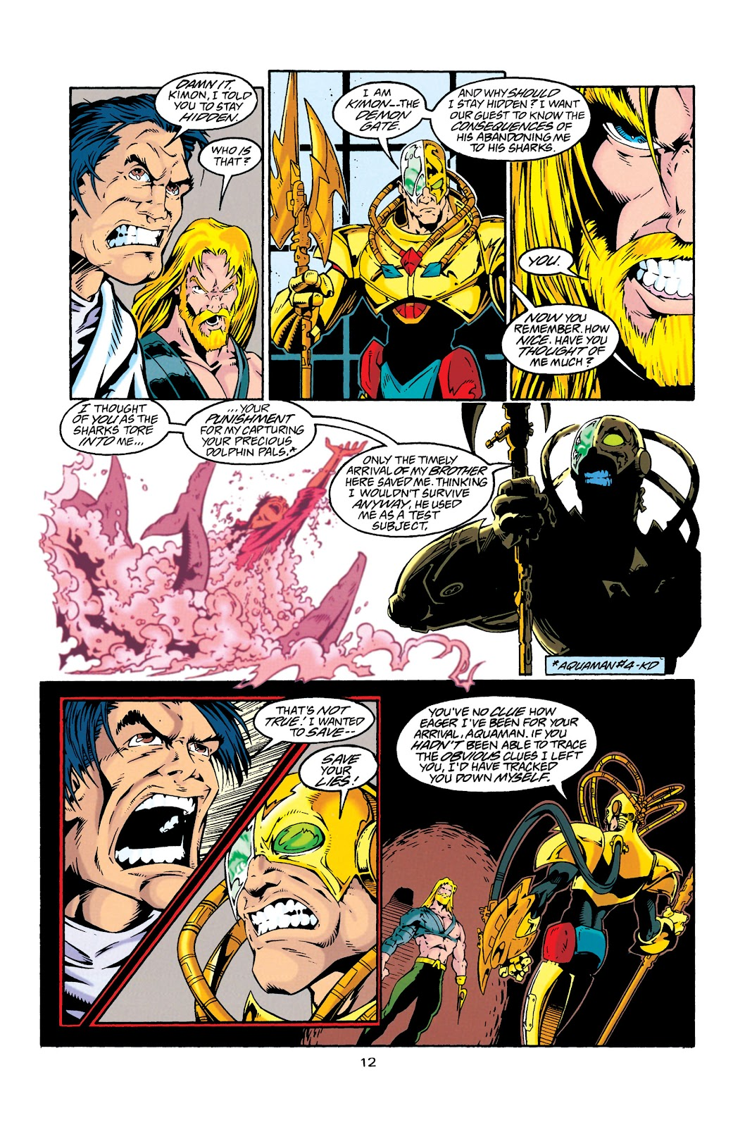 Aquaman (1994) Issue #27 #33 - English 13