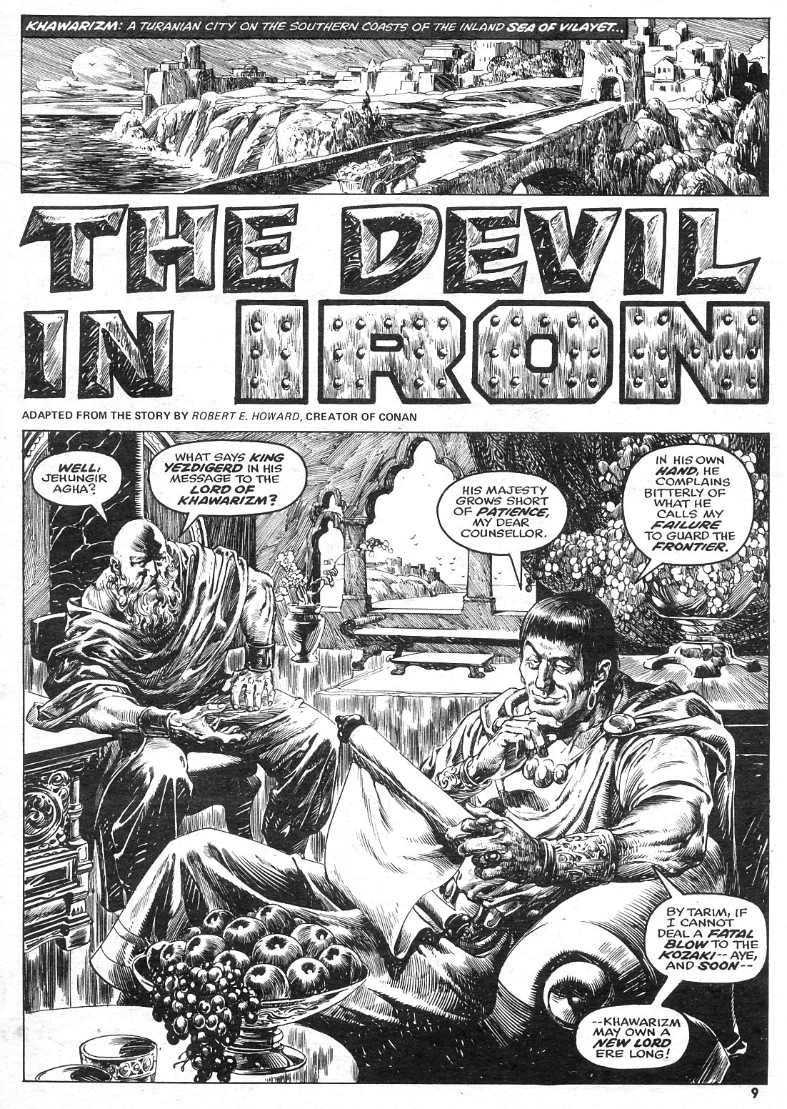 The Savage Sword Of Conan Issue #15 #16 - English 9