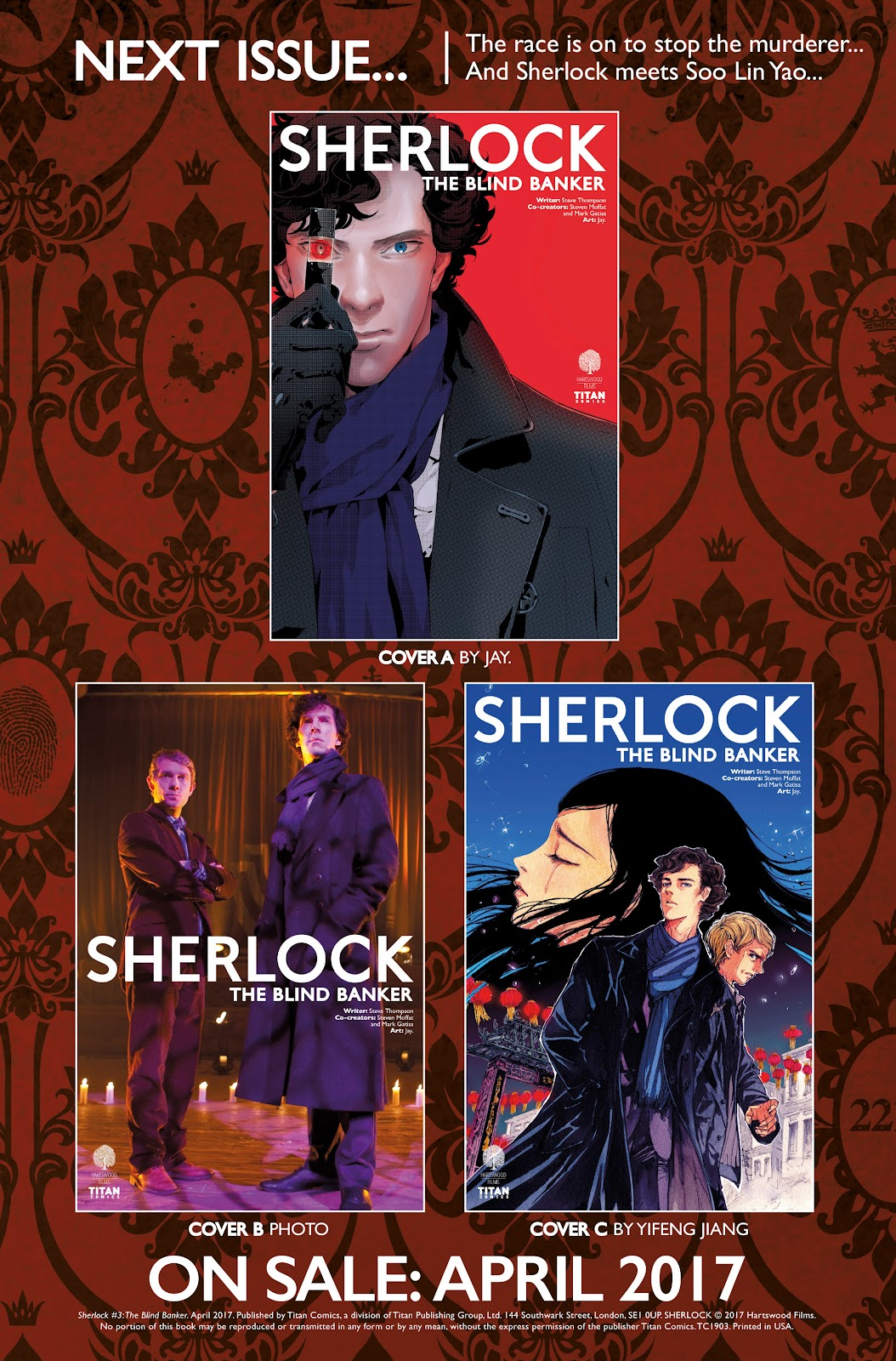 Sherlock: The Blind Banker Issue #3 #3 - English 39