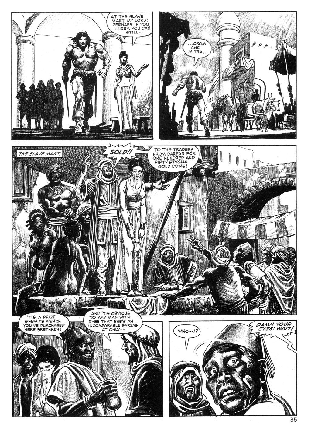 The Savage Sword Of Conan Issue #89 #90 - English 35