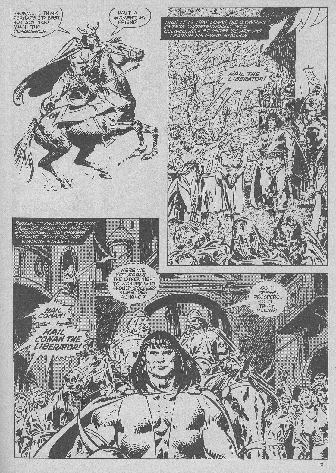 The Savage Sword Of Conan Issue #51 #52 - English 15