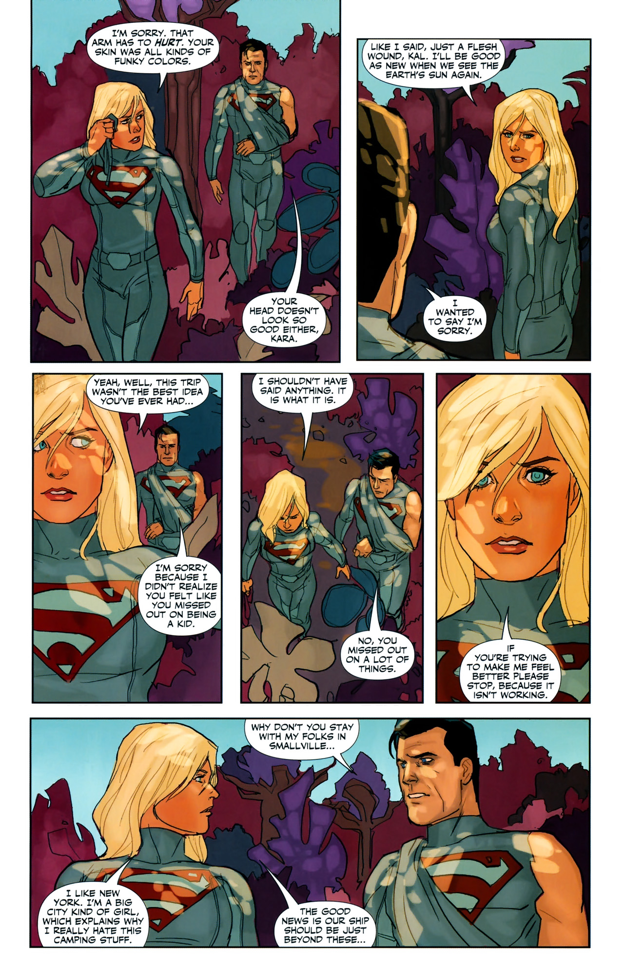 Read online Superman/Supergirl: Maelstrom comic -  Issue #3 - 20