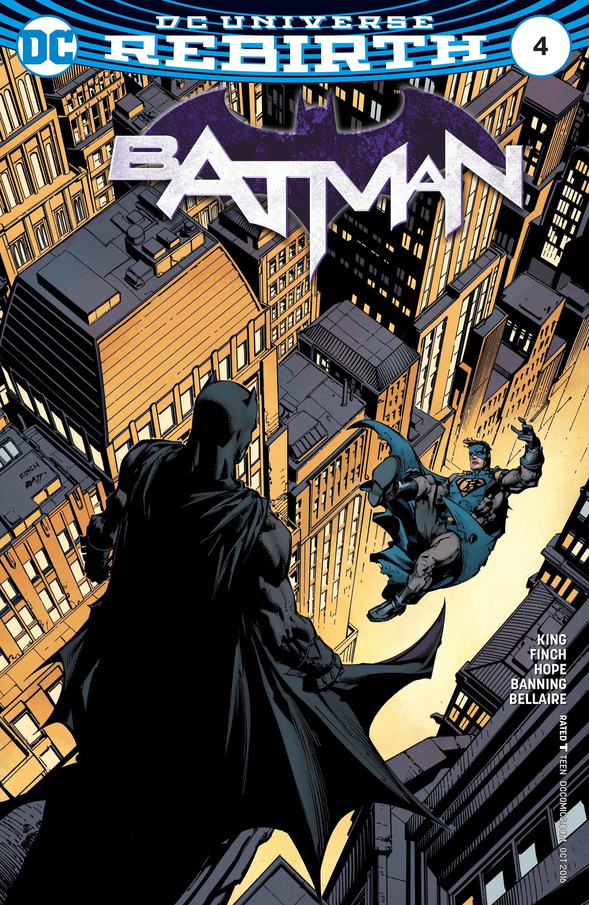 Batman (2016) 4 Page 1