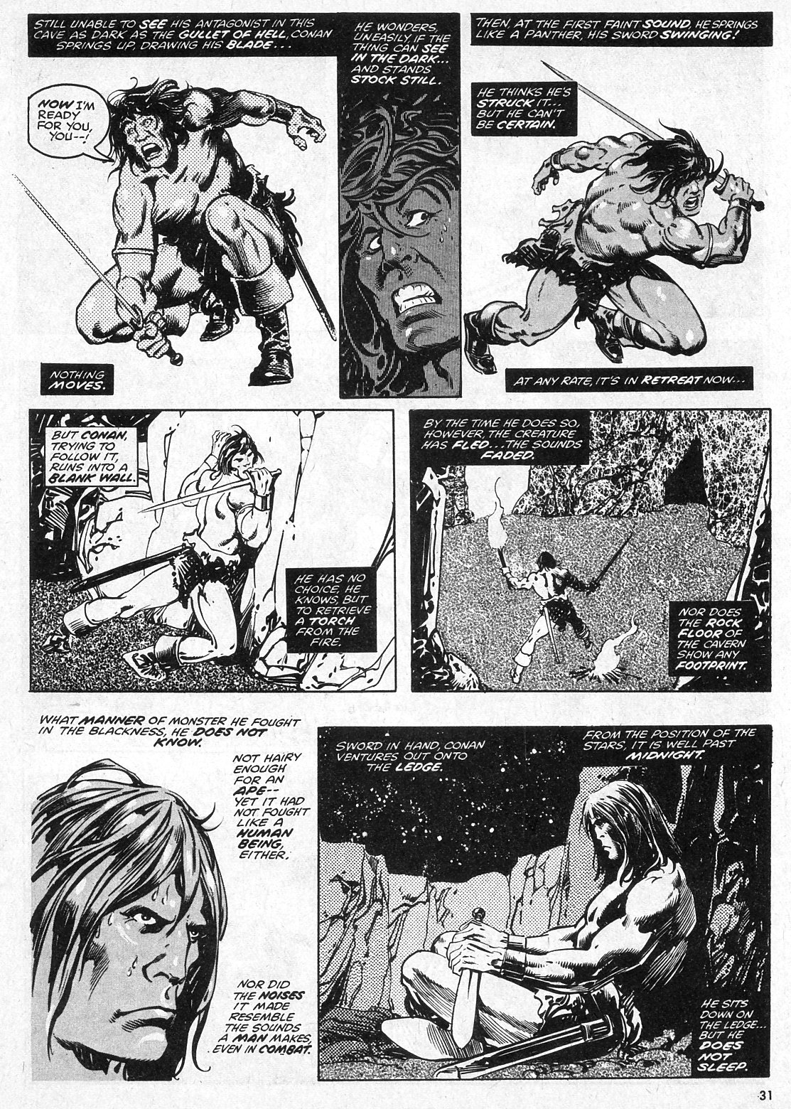 The Savage Sword Of Conan Issue #28 #29 - English 31