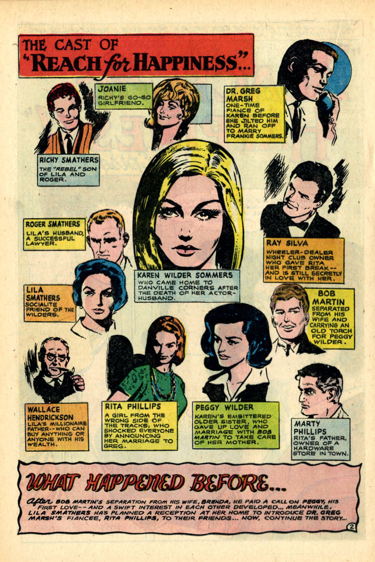 Read online Secret Hearts comic -  Issue #120 - 20